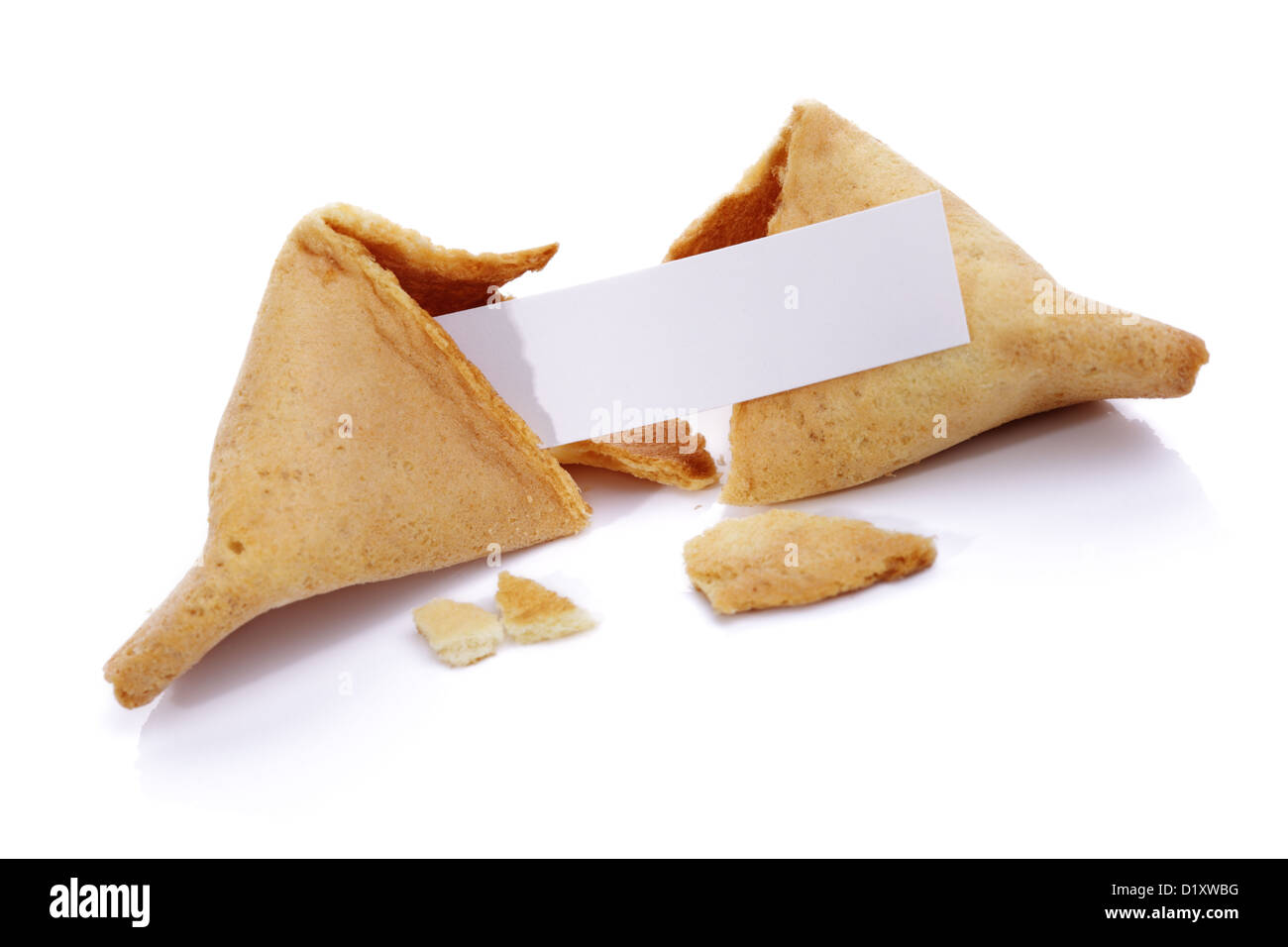 Fortune cookie - Stock Image