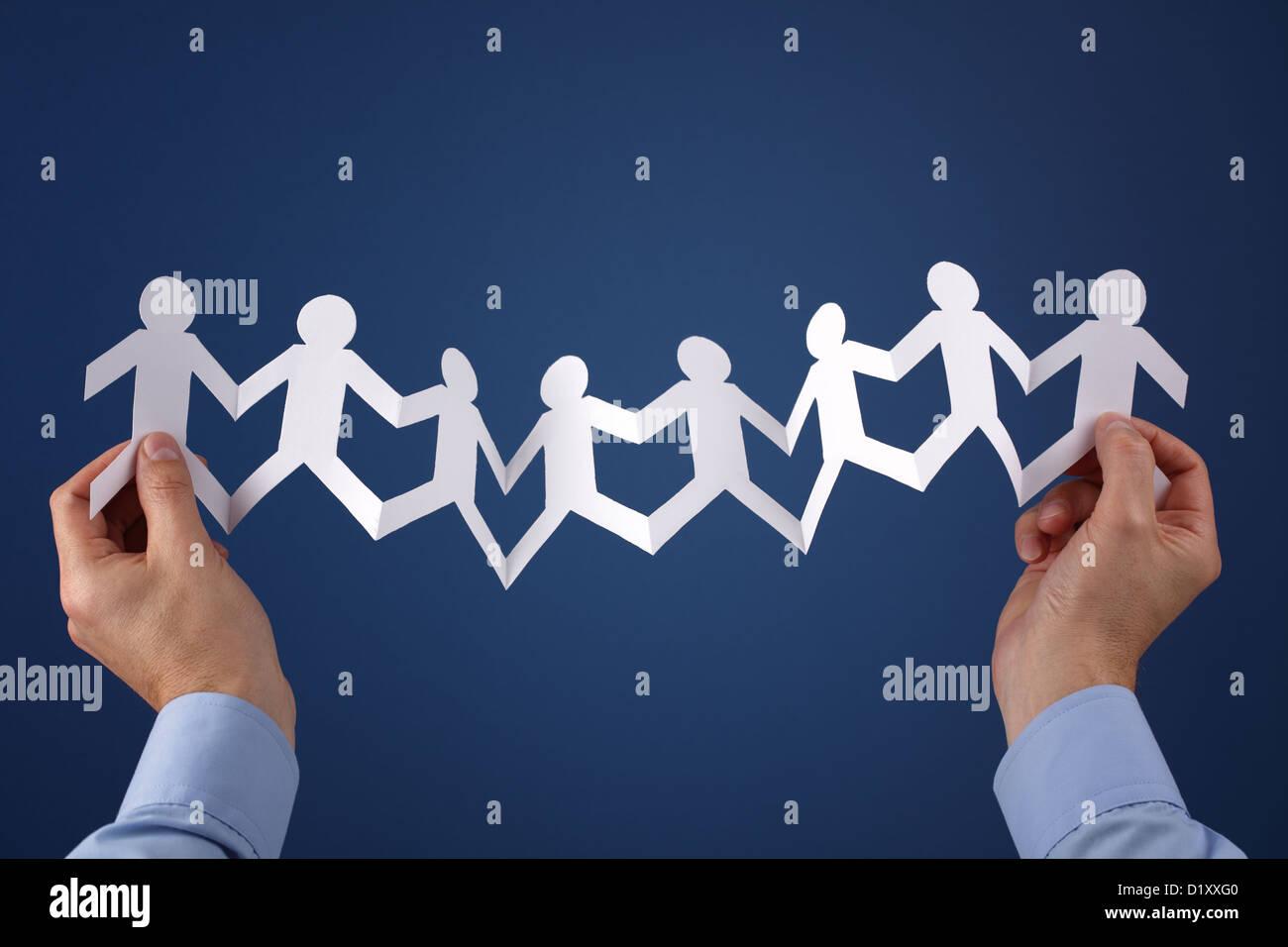 Teamwork - Stock Image