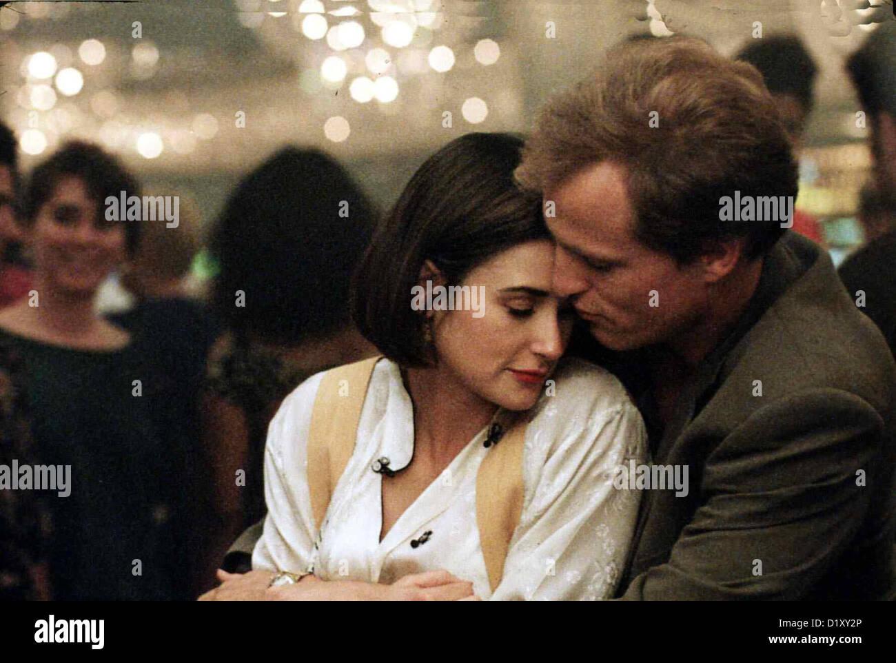 Ein Unmoralisches Angebot  Indecent Proposal  Demi Moore, Woody Harrelson Zuerst sind David (Woody Harrelson) und - Stock Image