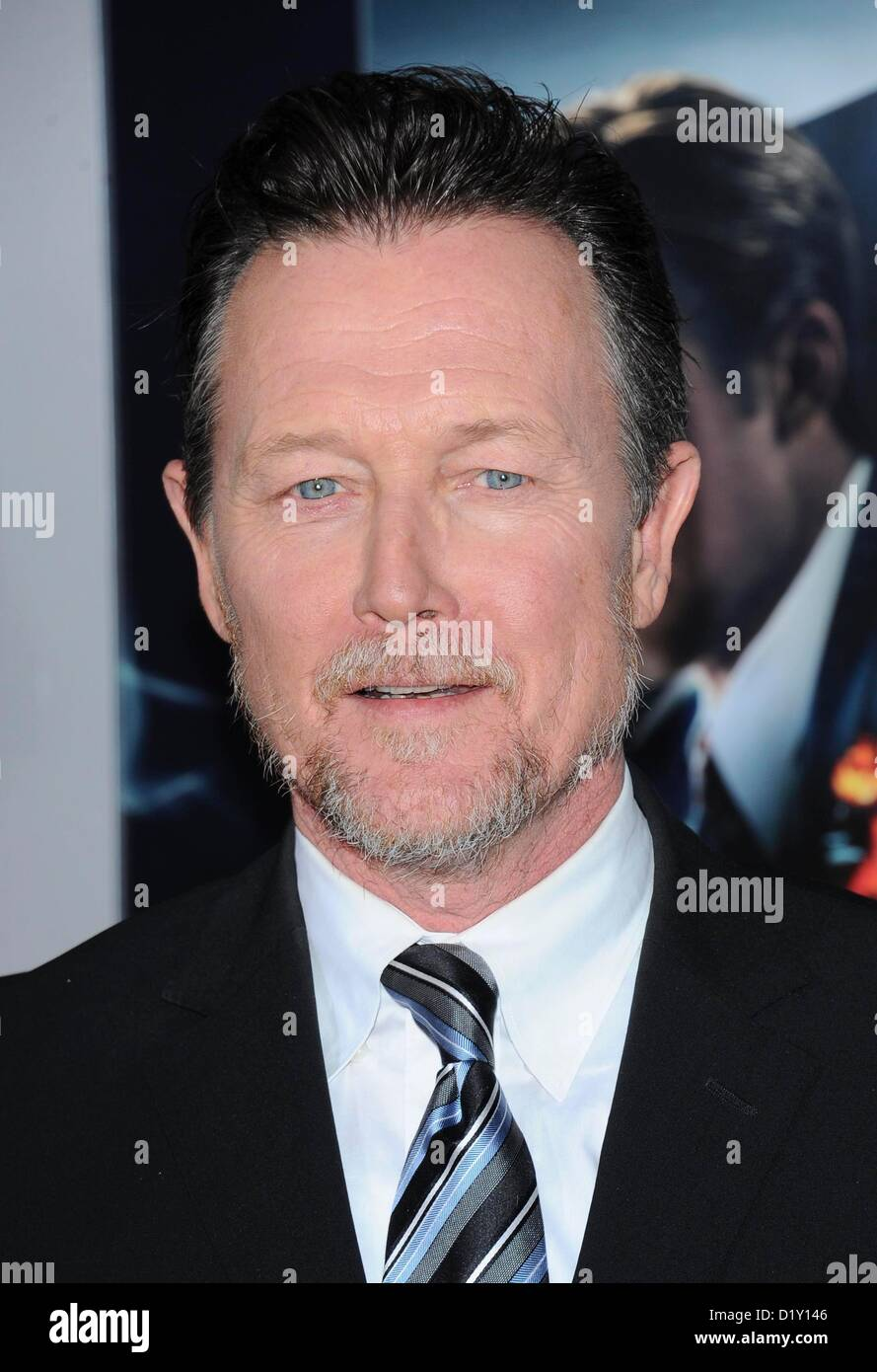 Actor Robert Patrick arrives at the film premiere for 'Gangster Squad' at the Chinese Theatre in Hollywood, - Stock Image