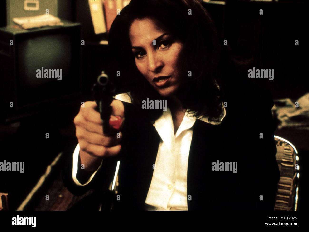 Jackie Brown   Jackie Brown   Pam Grier *** Local Caption *** 1997  IFTN/Miramax   clips 03/99 - Stock Image