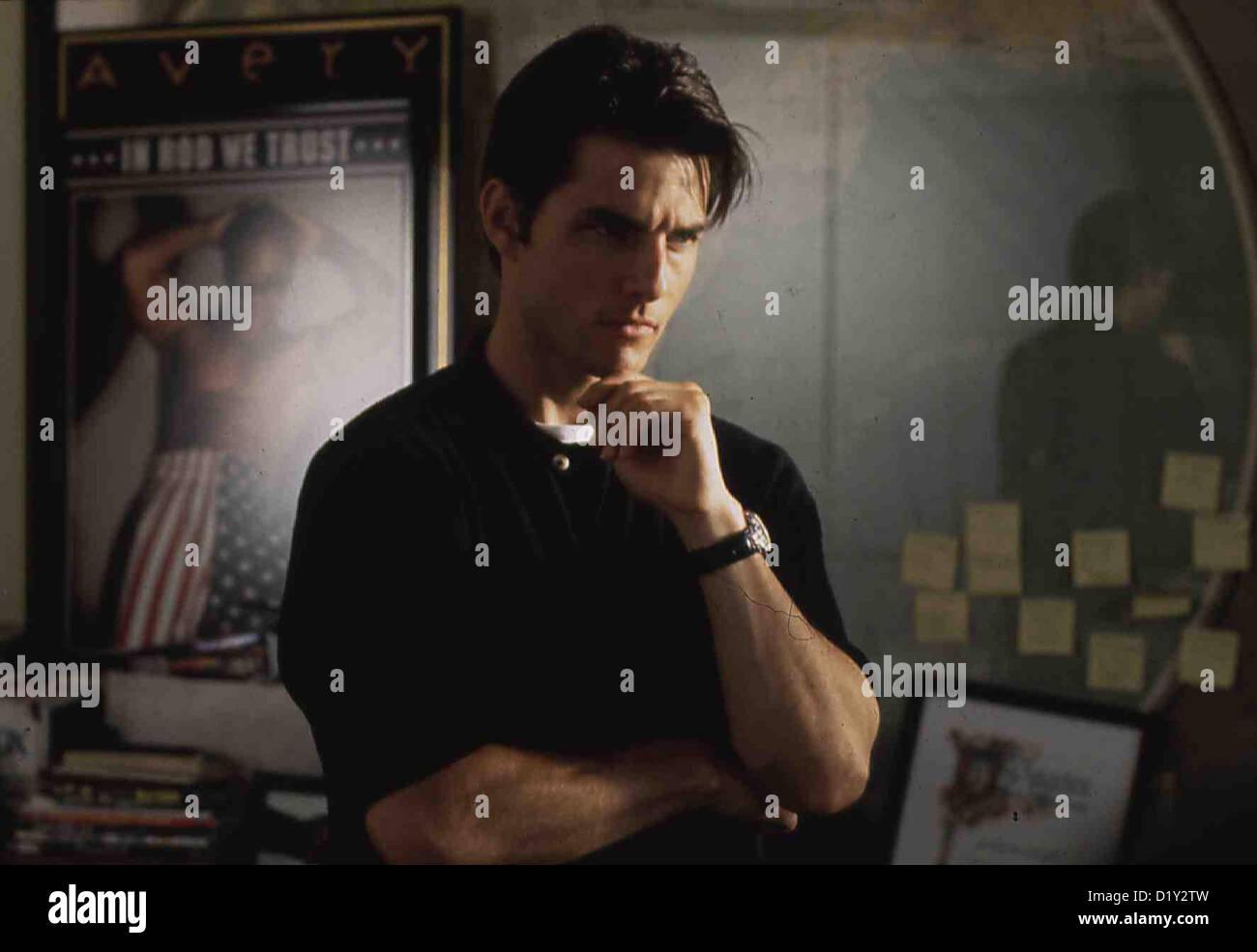Jerry Maguire - Spiel Des Lebens  Jerry Maguire  Tom Cruise Jerry Maquire (Tom Cruise) hat als Sportagent eine steile Stock Photo