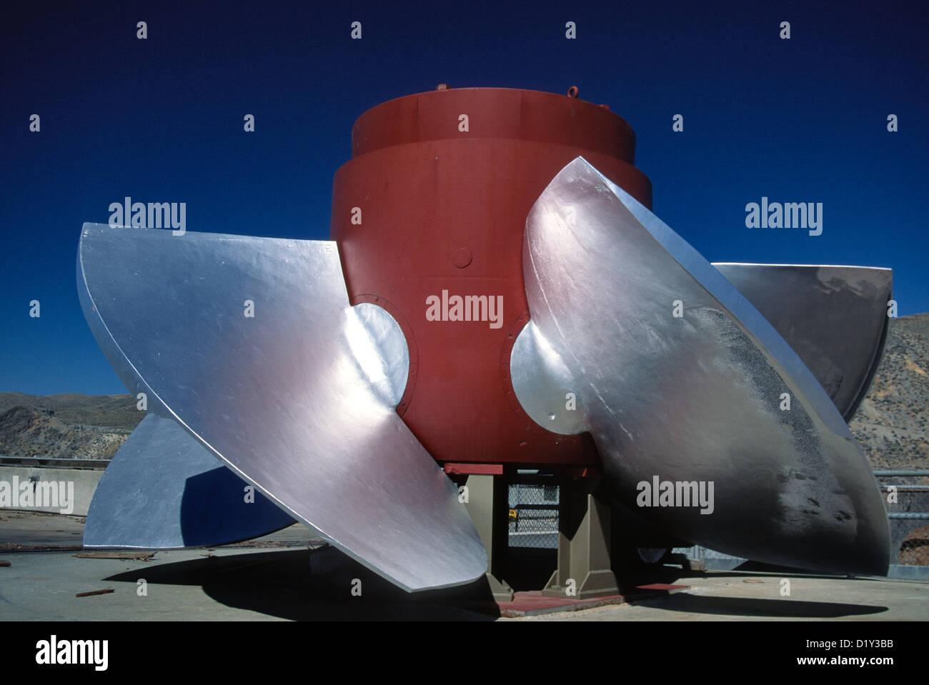 Power Turbine - Stock Image