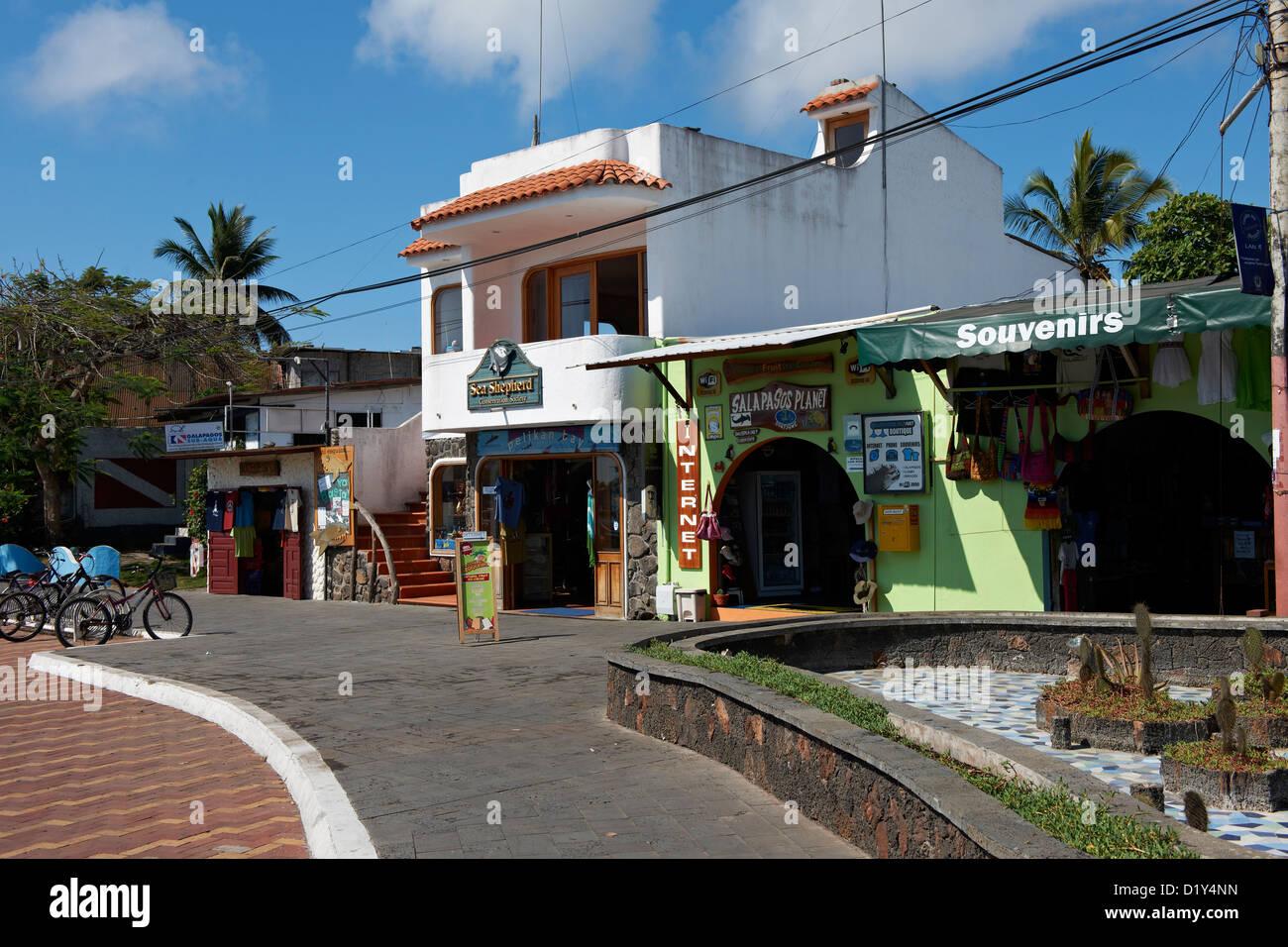 Puerto Ayora, Santa Cruz, Galapagos Islands, Ecuador - Stock Image