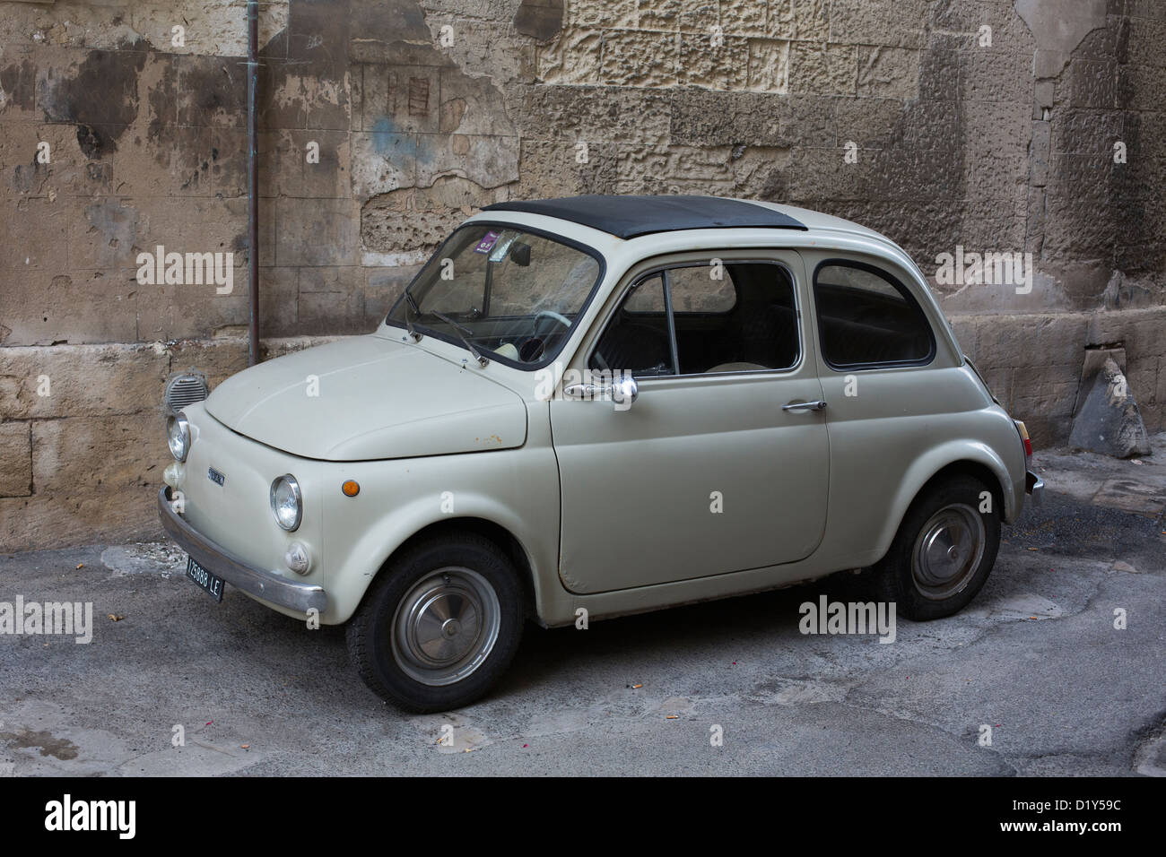 Fiat 500 Cinquecento Car Auto Funny Wagen Stock Photos Fiat 500
