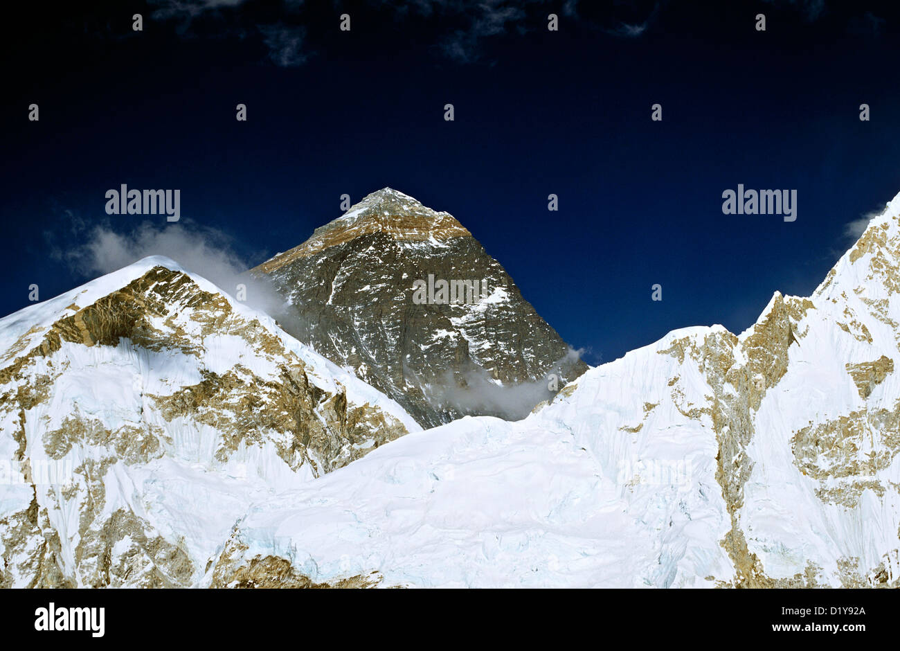 Mount Everest Nepal Asia - Stock Image