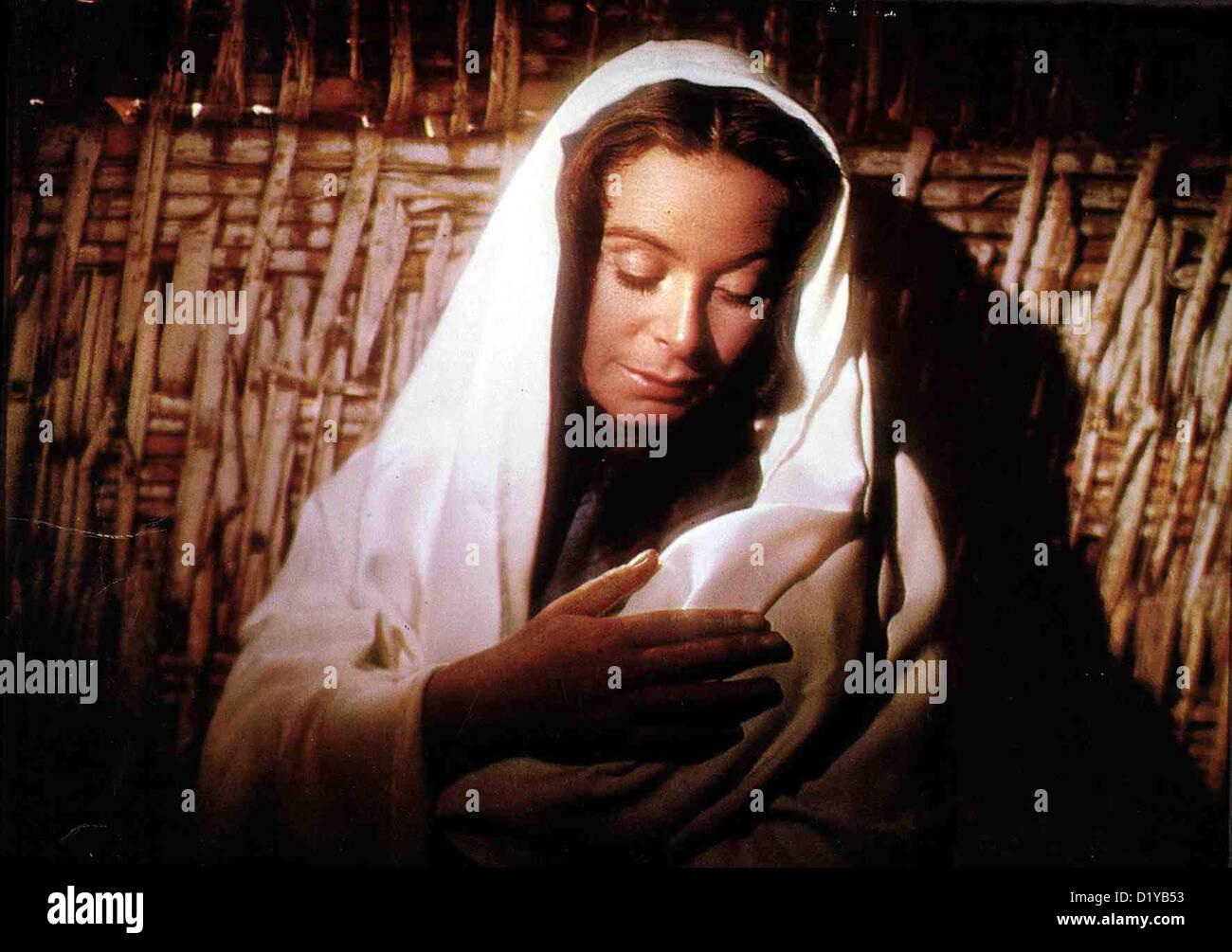 Koenig Der Koenige  King Kings  Siobhan McKenna Maria (Siobhan McKenna) mit ihrem Sohn Jesus, dessen Leben die Geschichte - Stock Image