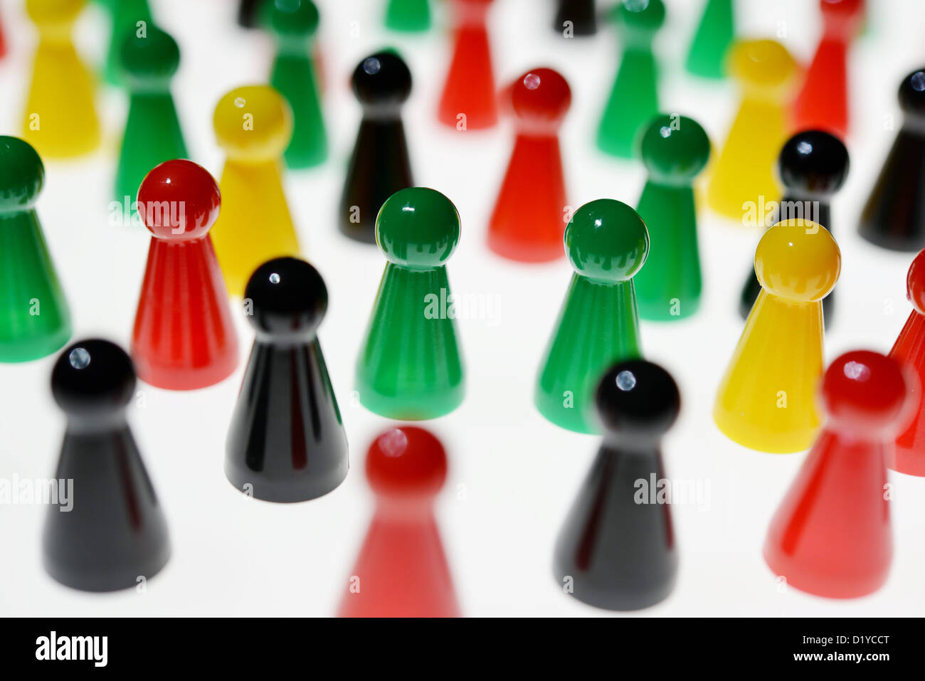Figures of a game. Photo: Frank May Stock Photo