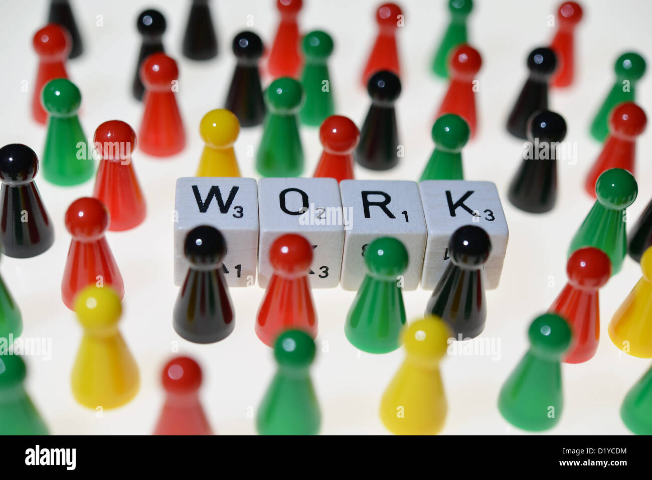 Symbolic picture - employment. Photo: Frank May Stock Photo