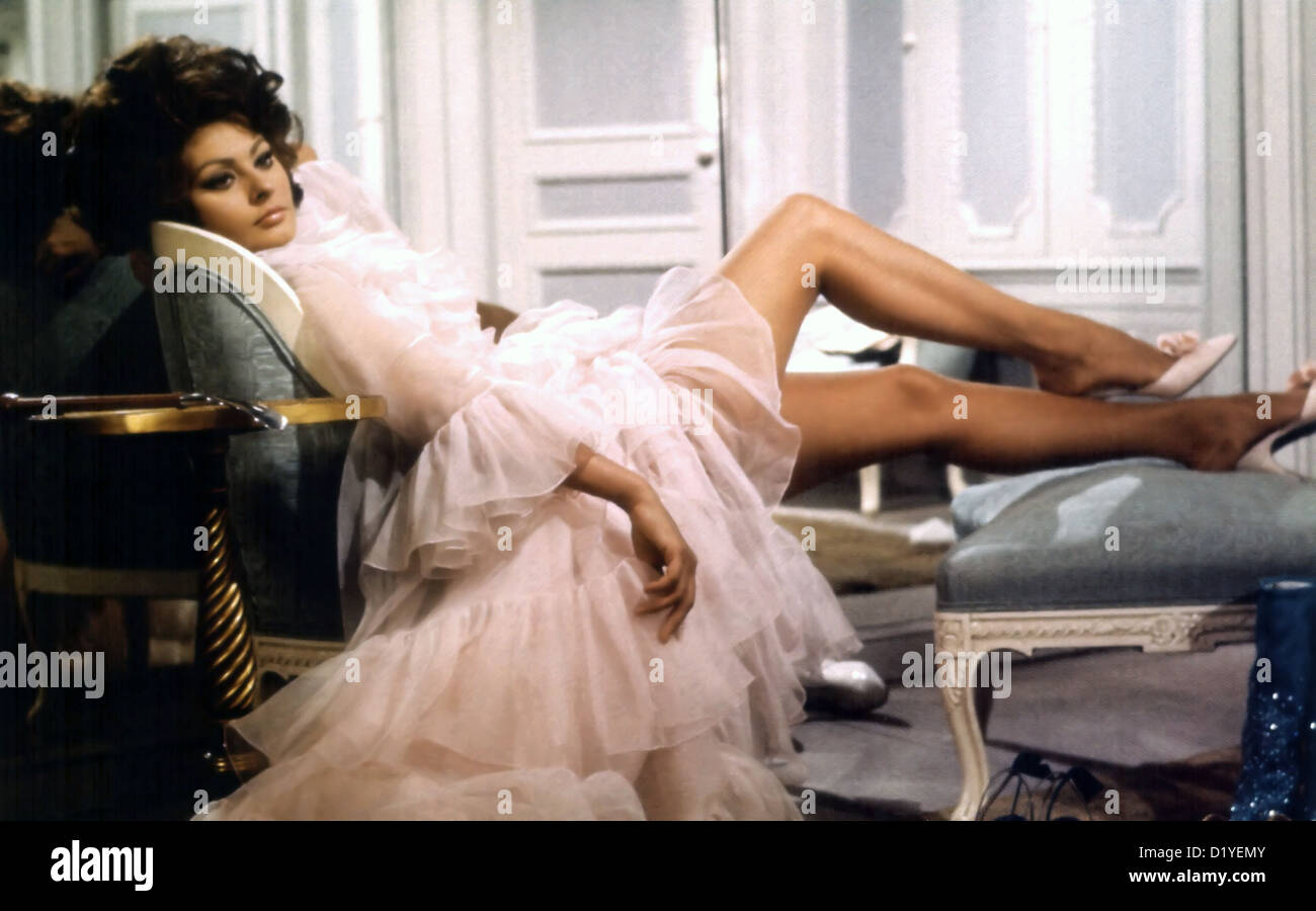 ARABESQUE 1966 Universal Pictures film with Sophia Loren - Stock Image