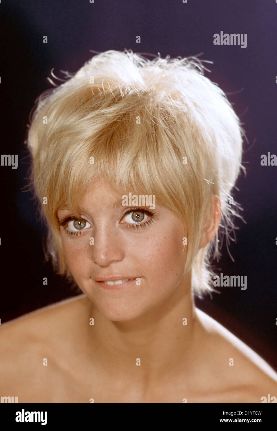 GOLDIE HAWN US Film Actress About 1980 Stock Photo 52850585