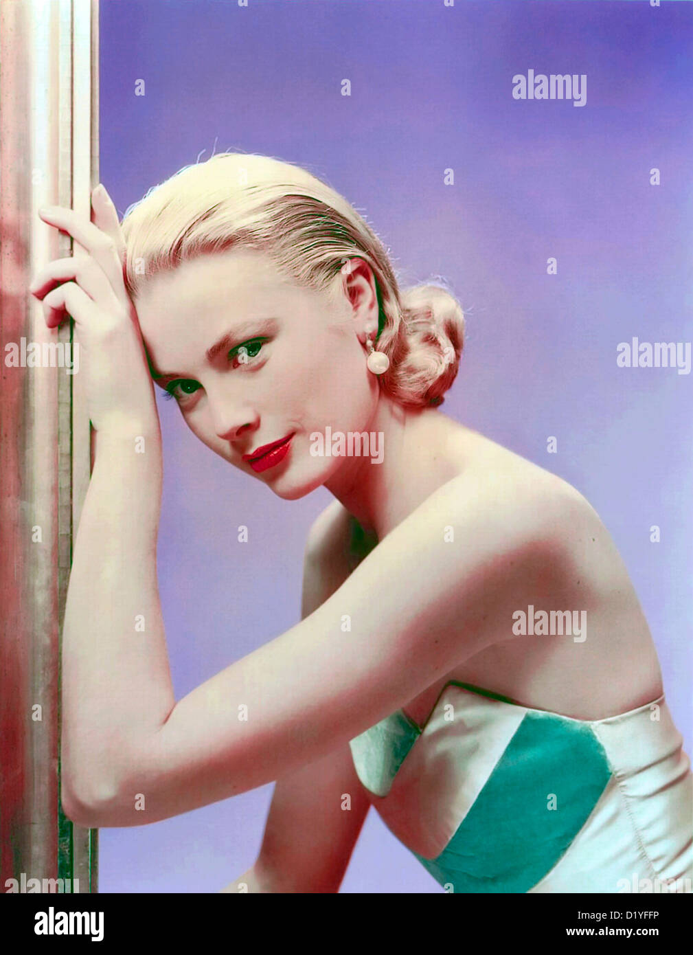 GRACE KELLY (1929-1982)  US film actress about 1955 - Stock Image