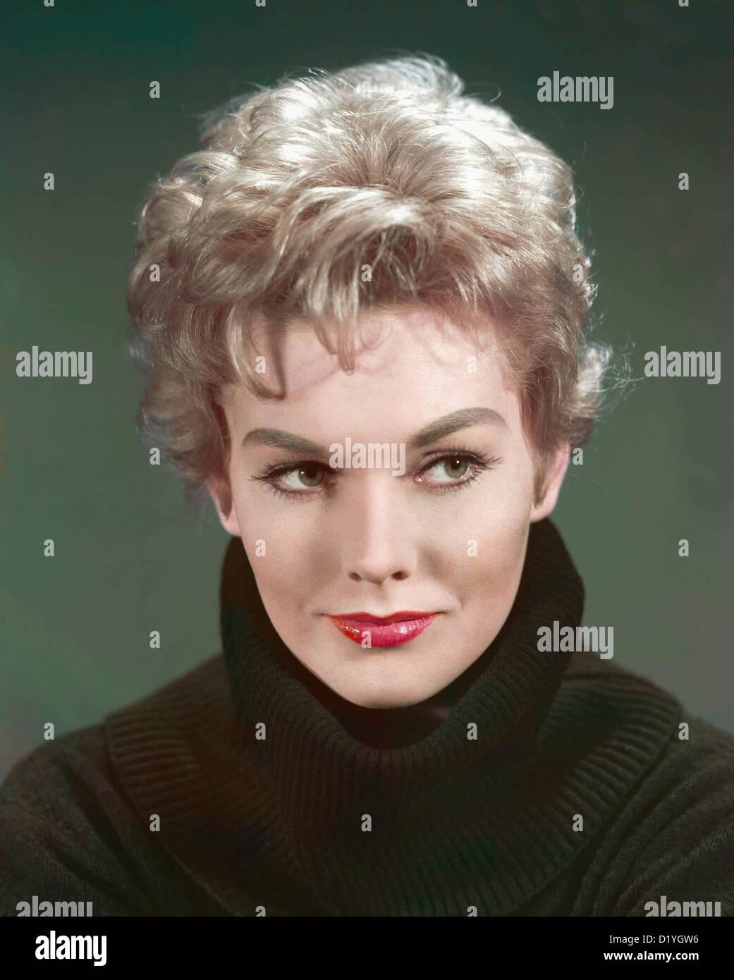 KIM NOVAK US film actress about 1958 - Stock Image