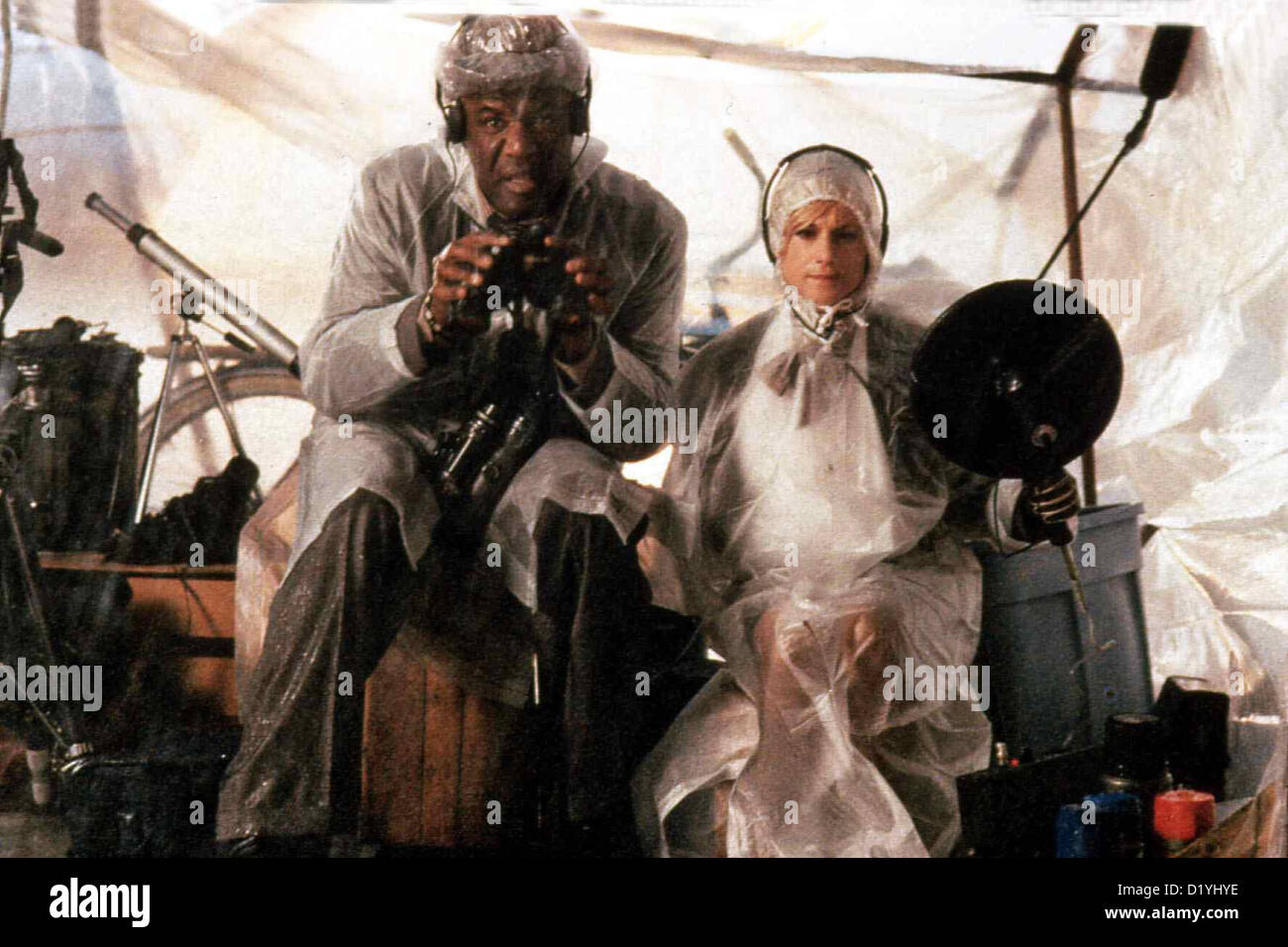 Lebe Lieber Ungewoehnlich  Life Less Ordinary,  Delroy Lindo, Holly Hunter Jackson (Delroy Lindo) und O'Reilly - Stock Image