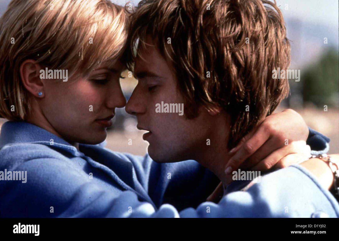 Lebe Lieber Ungewoehnlich  Life Less Ordinary,  Robert (Ewan McGregor) und Celine (Cameron Diaz) *** Local Caption - Stock Image