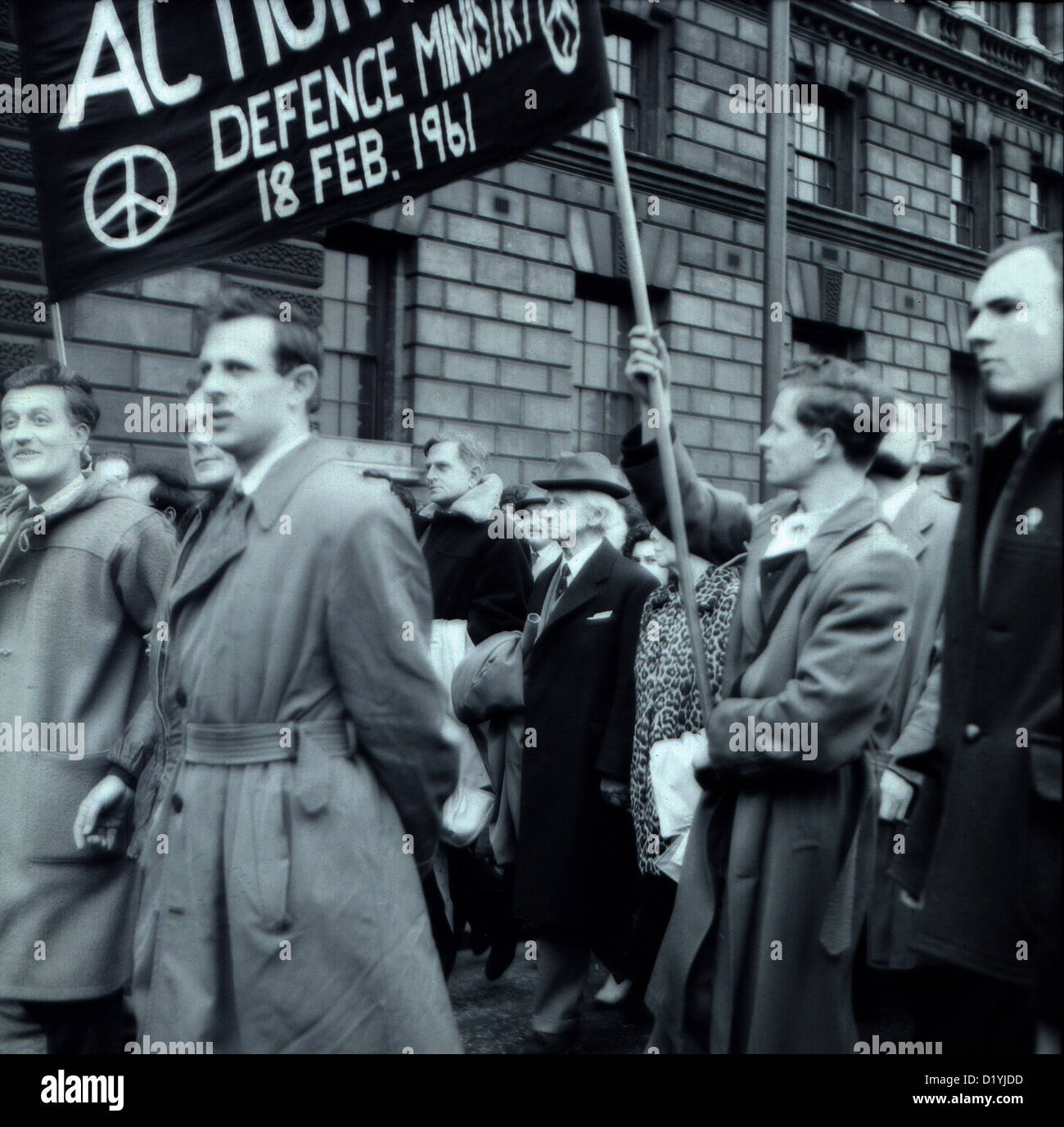 Bertrand Russell  logician mathematician historian social critic anti-war activist nuclear disarmament humanitarian - Stock Image