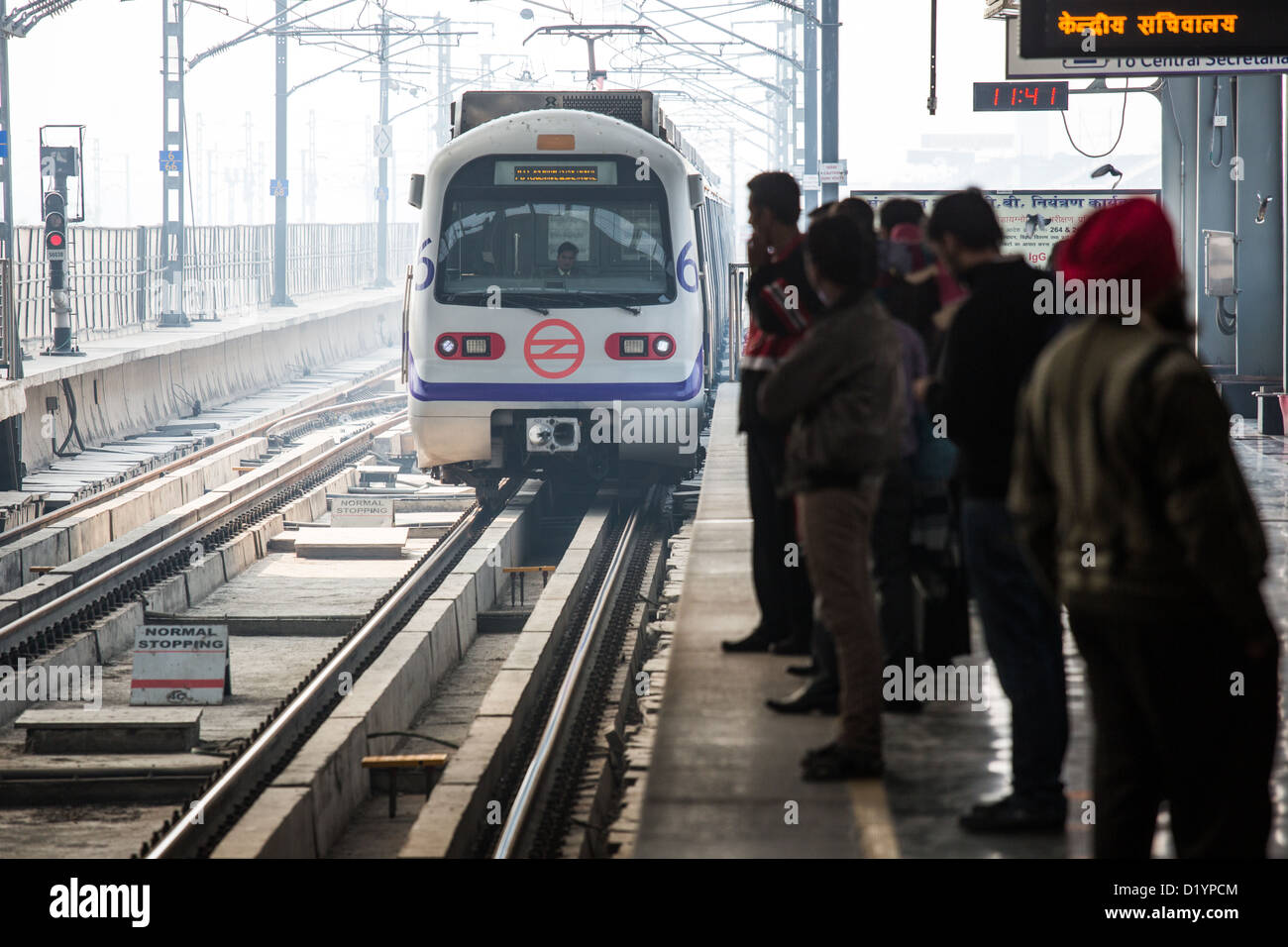 Delhi Metro Stock Photos & Delhi Metro Stock Images - Alamy