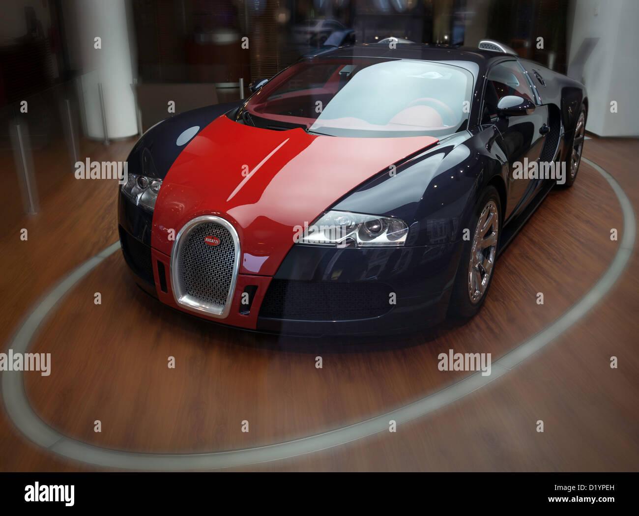 Amazing Bugatti Veyron   Stock Image