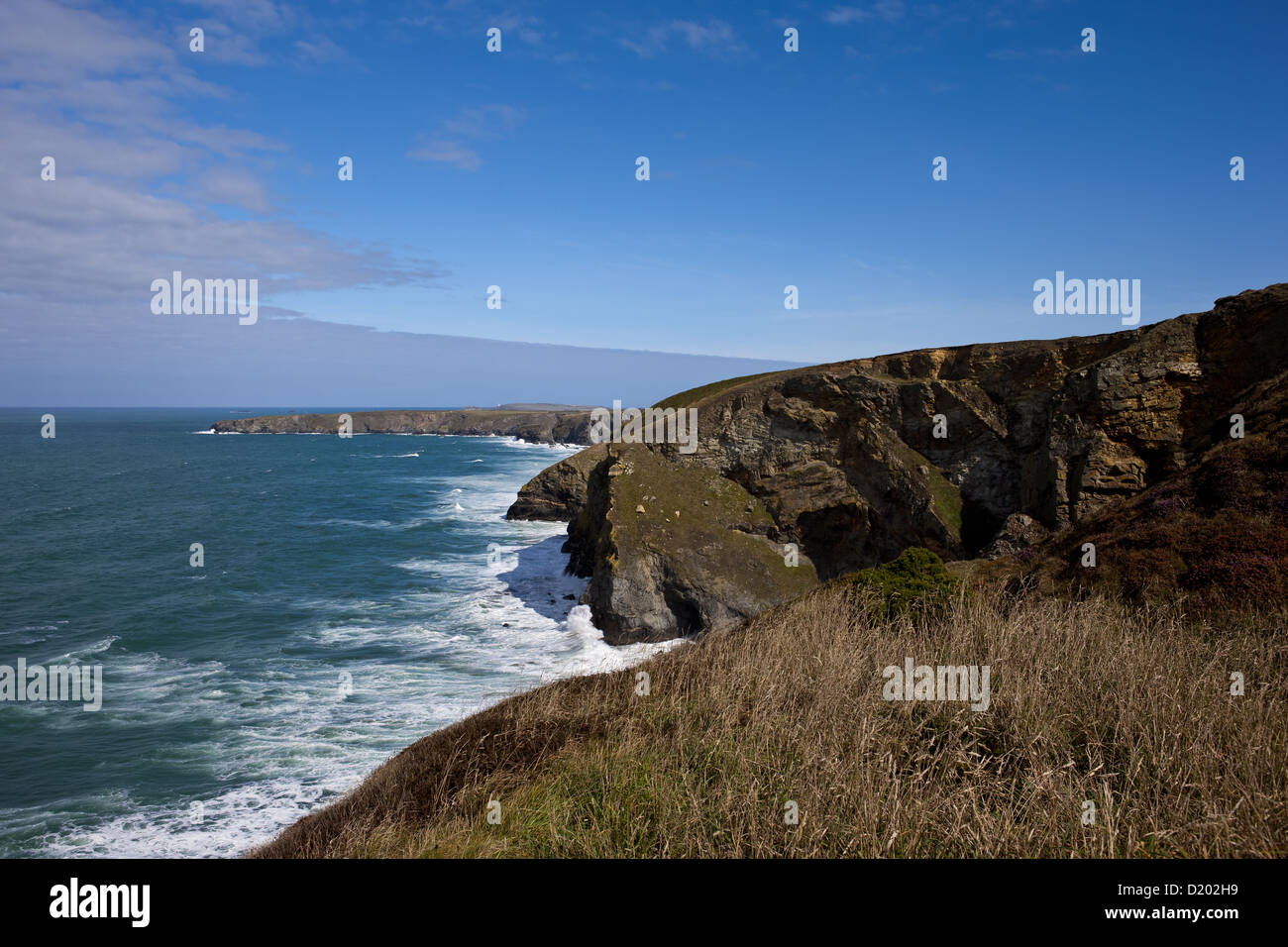 Trenance Point, Cornwall - Stock Image