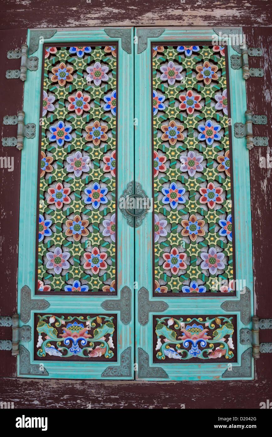 Ornate Door in Haedong Yonggungsa Temple Busan South Korea  sc 1 st  Alamy & Ornate Door in Haedong Yonggungsa Temple Busan South Korea Stock ...