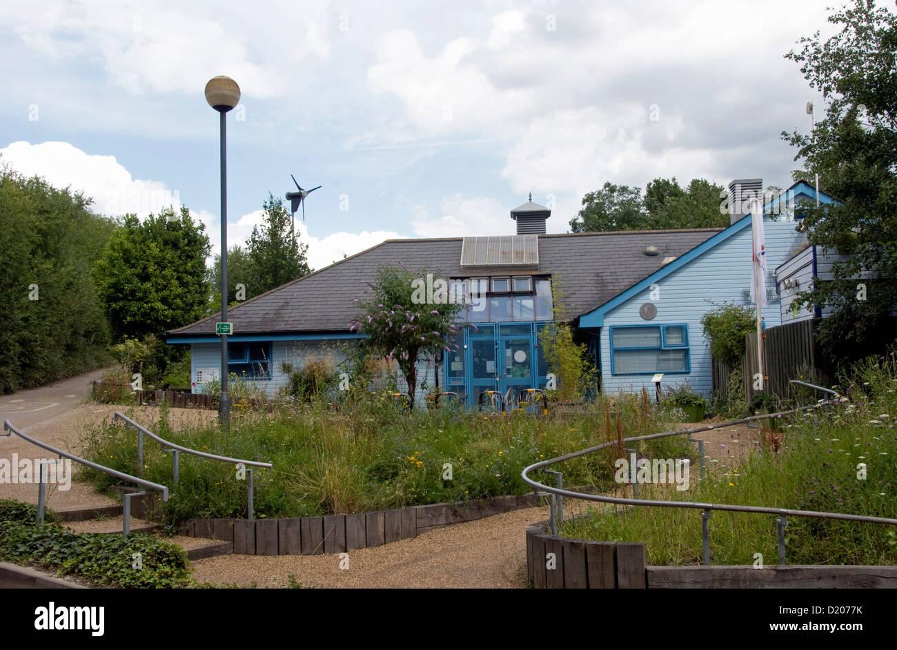 Islington Ecology Centre, Gillespie Park Nature Reserve, Highbury, London, England UK - Stock Image