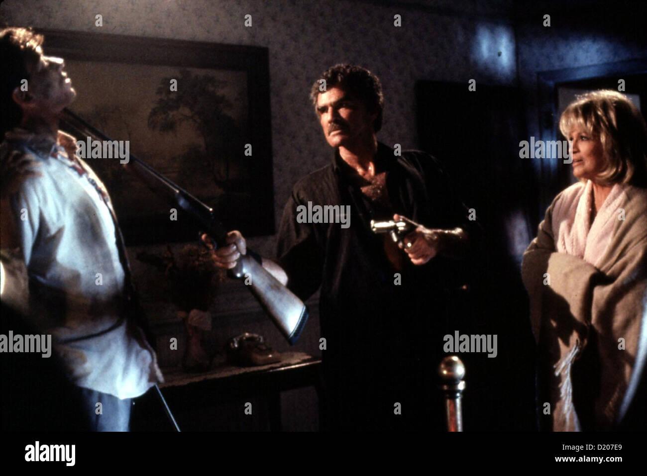Der Psychopath  Maddening,  Brian Wimmer, Burt Reynolds, Angie Dickinson David (Brian Wimmer), Roy (Burt Reynolds) - Stock Image