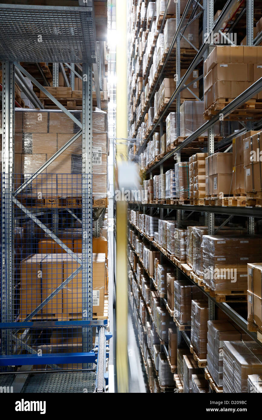 Dortmund, Germany, IKEA distribution center Dortmund-Ellinghausen - Stock Image