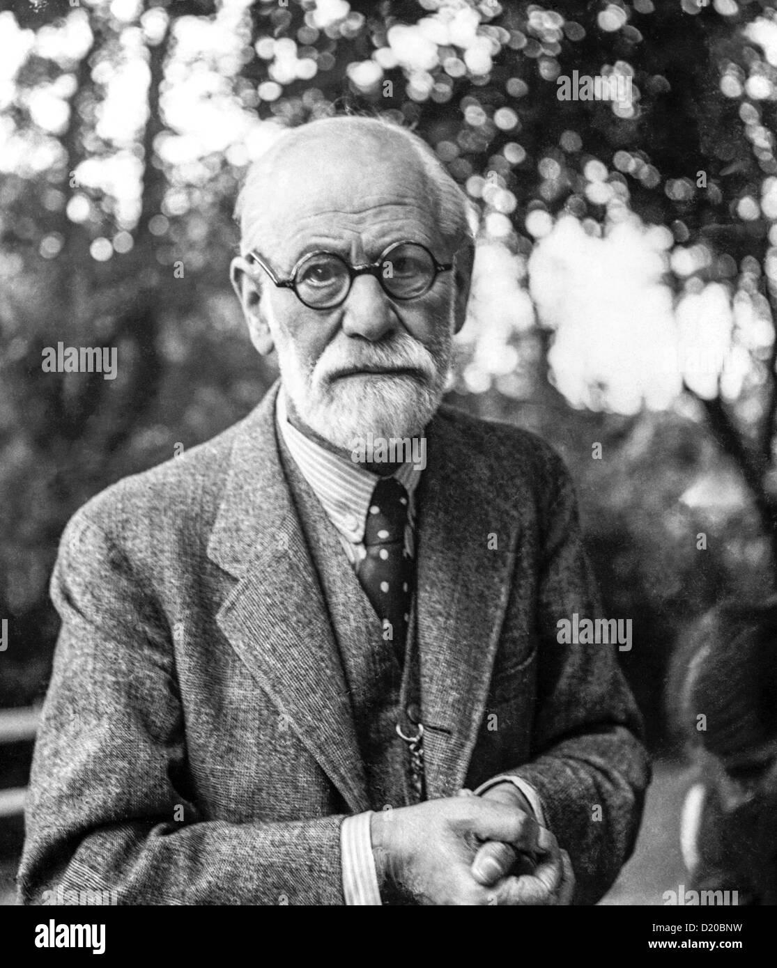 Sigmund Freud in 1935 - Stock Image