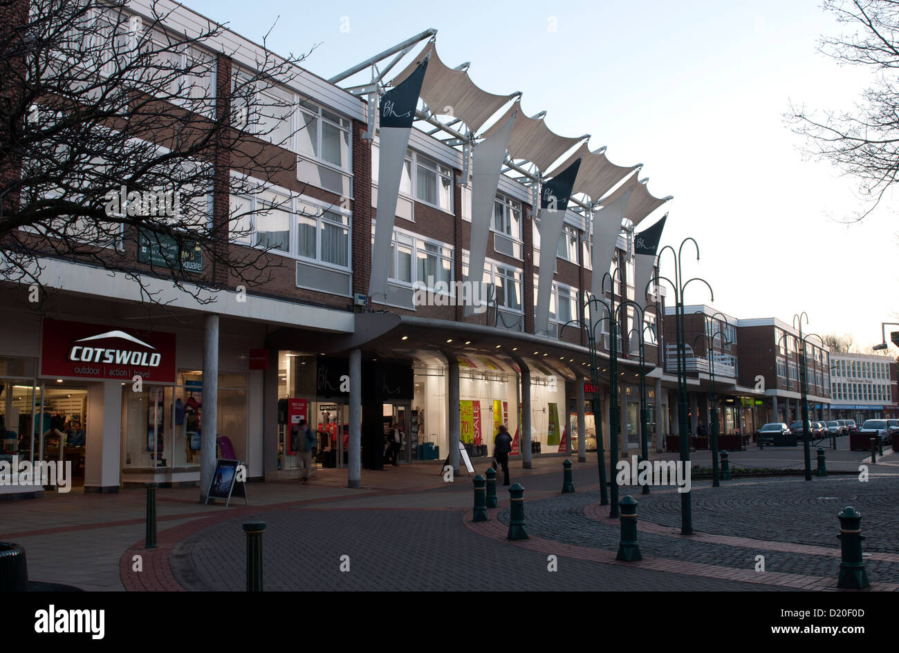 Mell Square, Solihull, West Midlands, England, UK - Stock Image