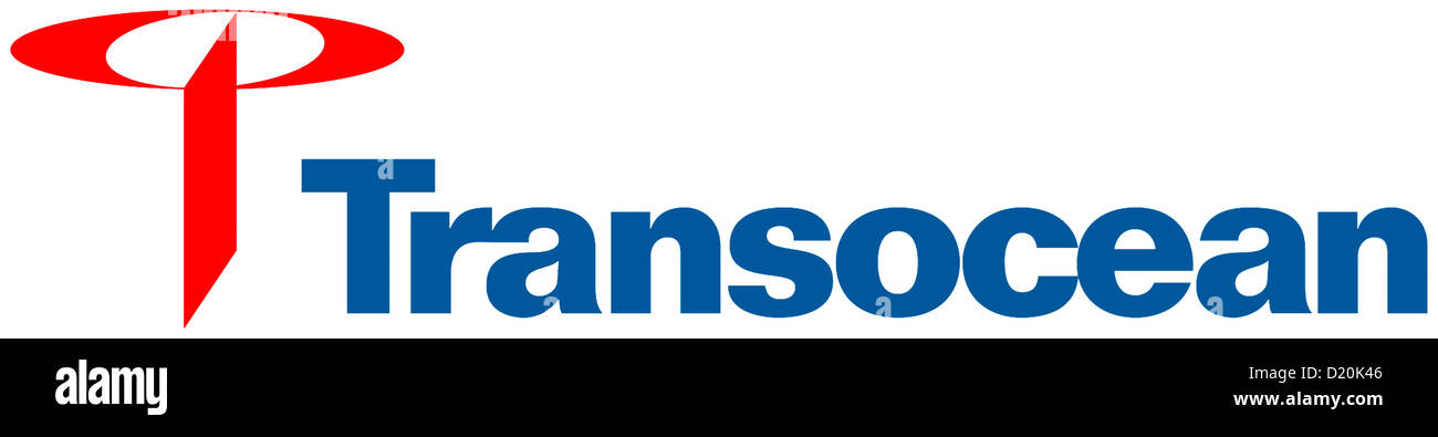 Logo of the chemical combine Transocean Ltd. from Switzerland. - Stock Image