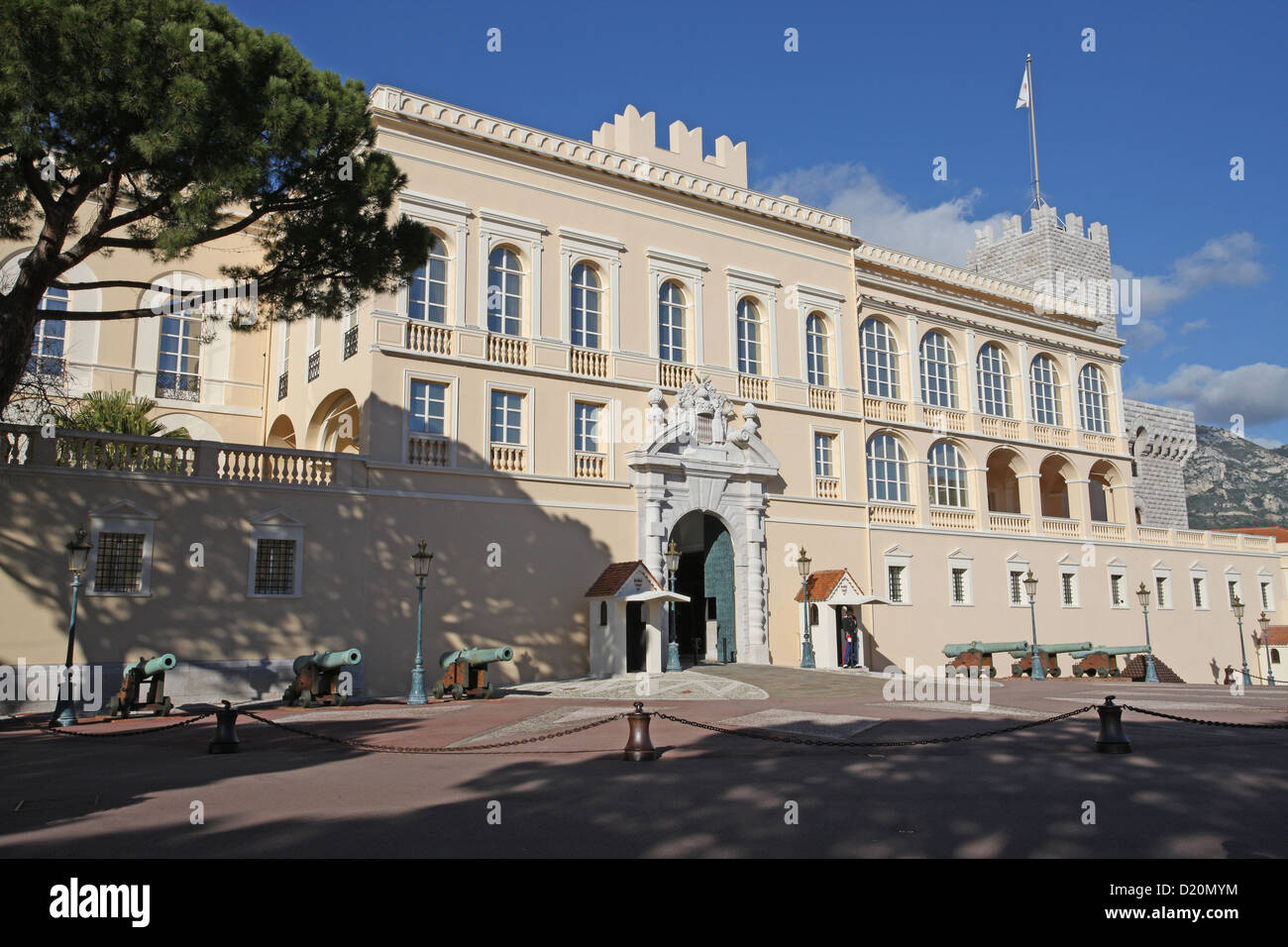The Palace of Monte Carlo Monaco - Stock Image