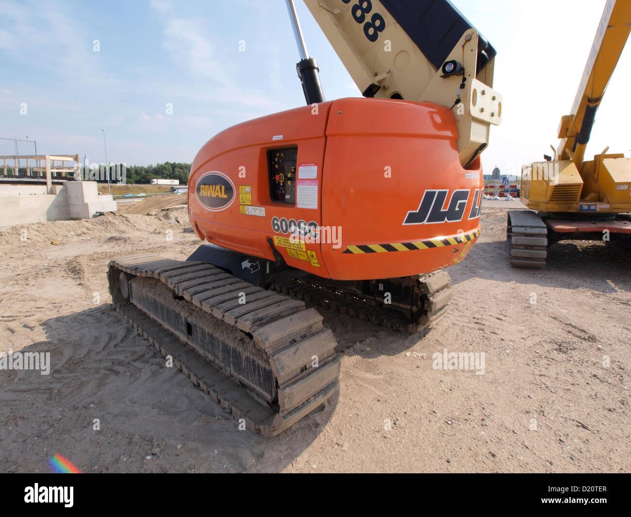 JLG 600SC Telescopic Crawler Boom Lift Stock Photo: 52879647