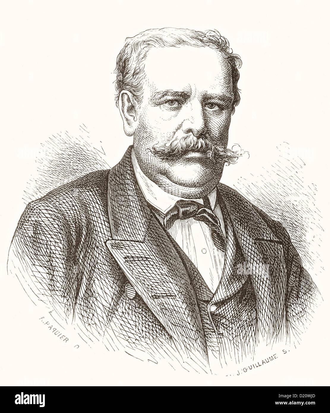 Moritz von Schwind, 1804 - 1871. Austrian artist. - Stock Image