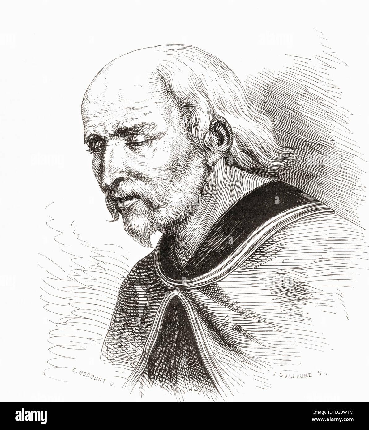 Bartholomäus Zeitblom, c. 1450 – c. 1519. German artist. - Stock Image