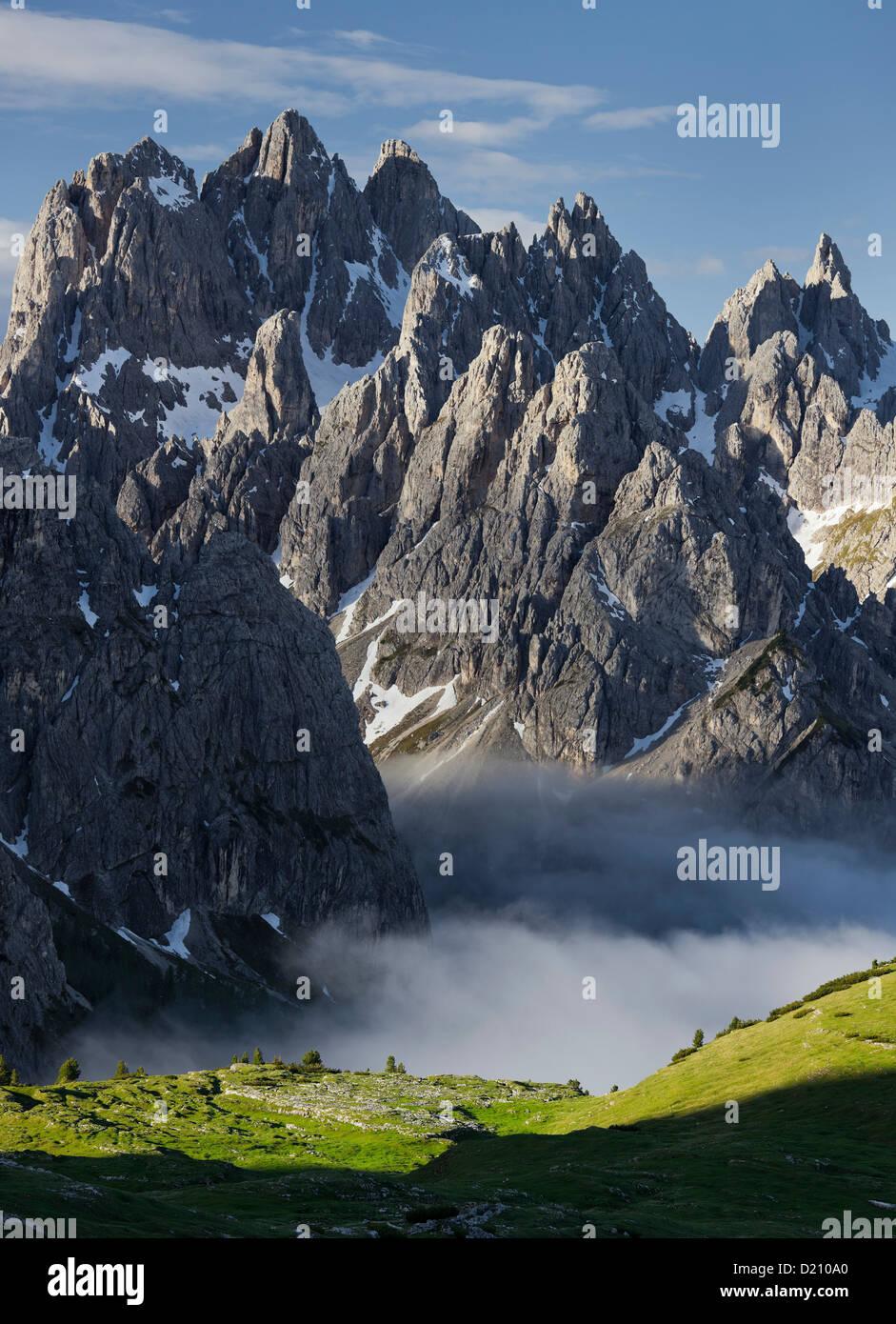 Cadini di Misurina, Belluno, Dolomites, Veneto, Italy - Stock Image