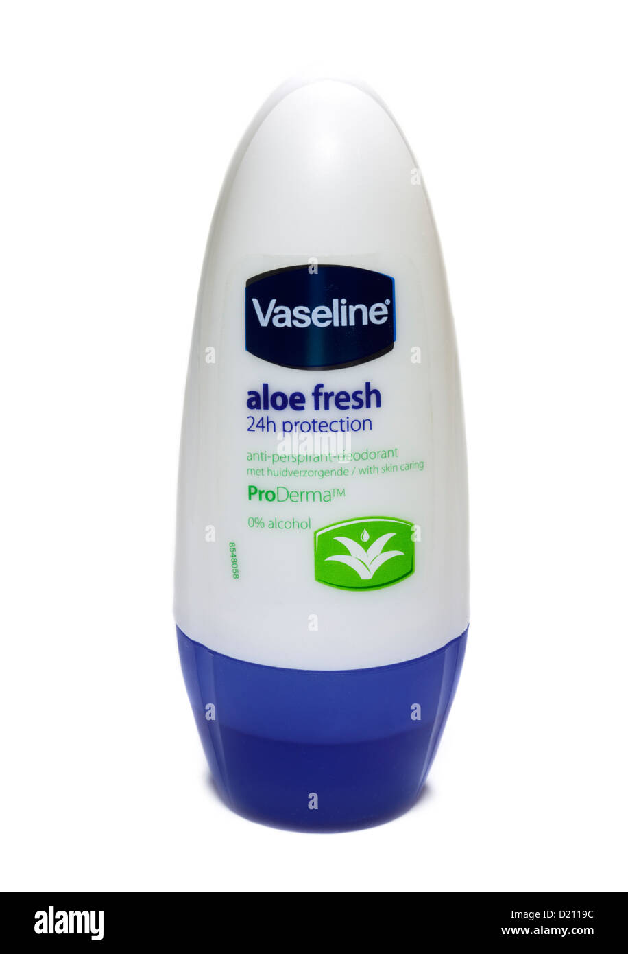 Vaseline Aloe Fresh Antiperspirant Deodorant Roll-On - Stock Image