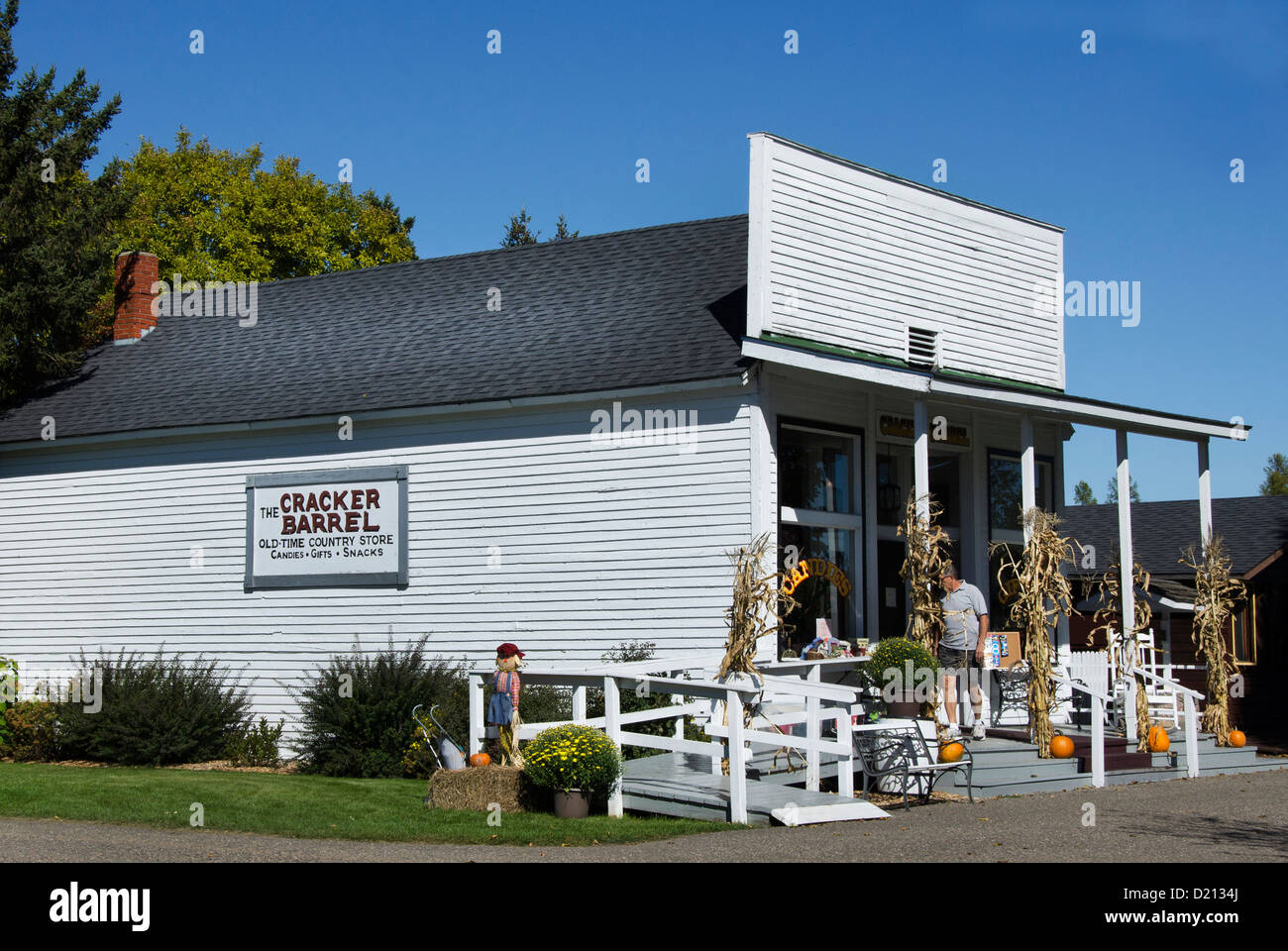 Cracker Barrel Old Time Country Store Camp 5 Logging Camp - Stock Image