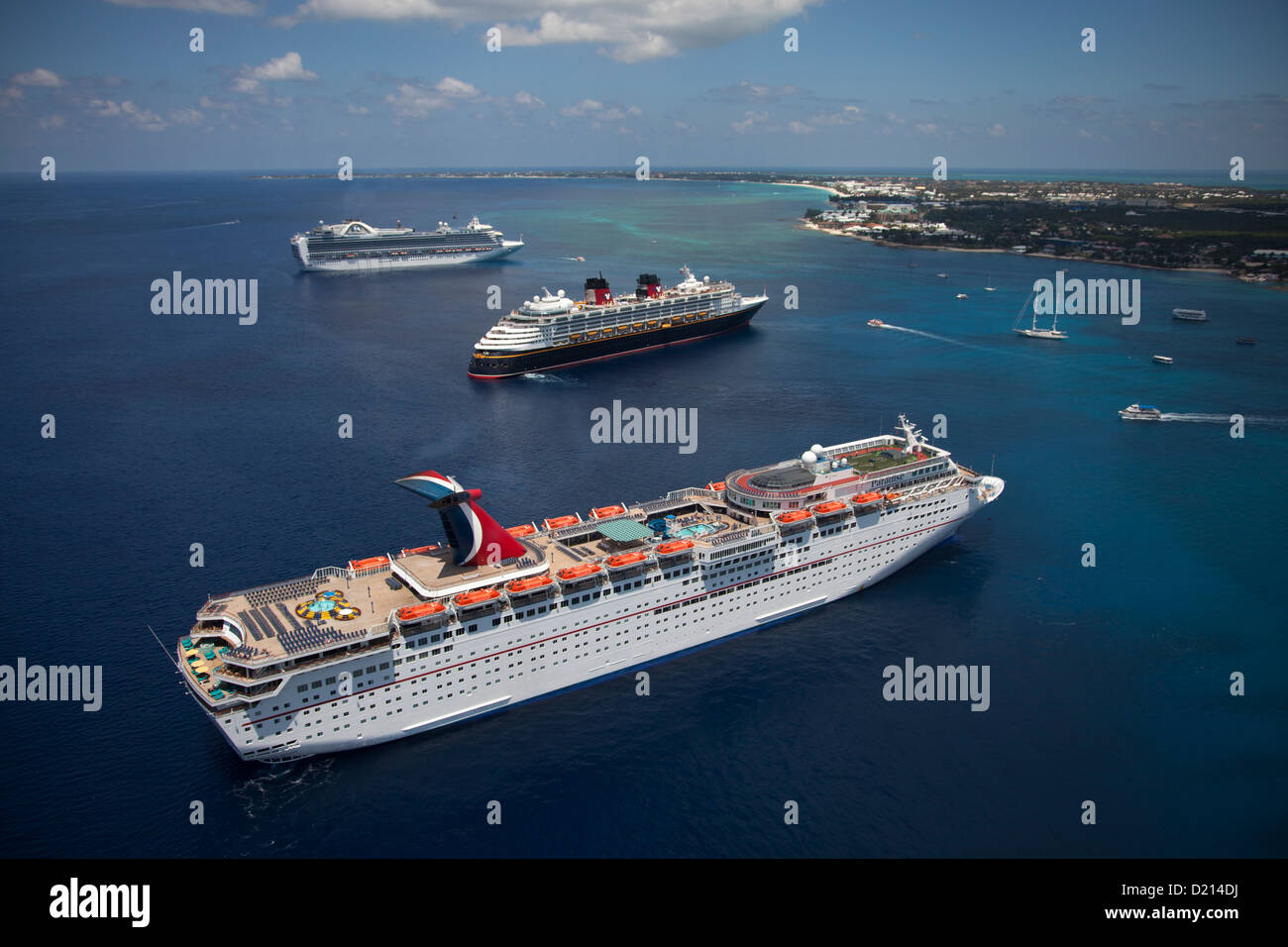 Grand Cayman Island Carnival Port
