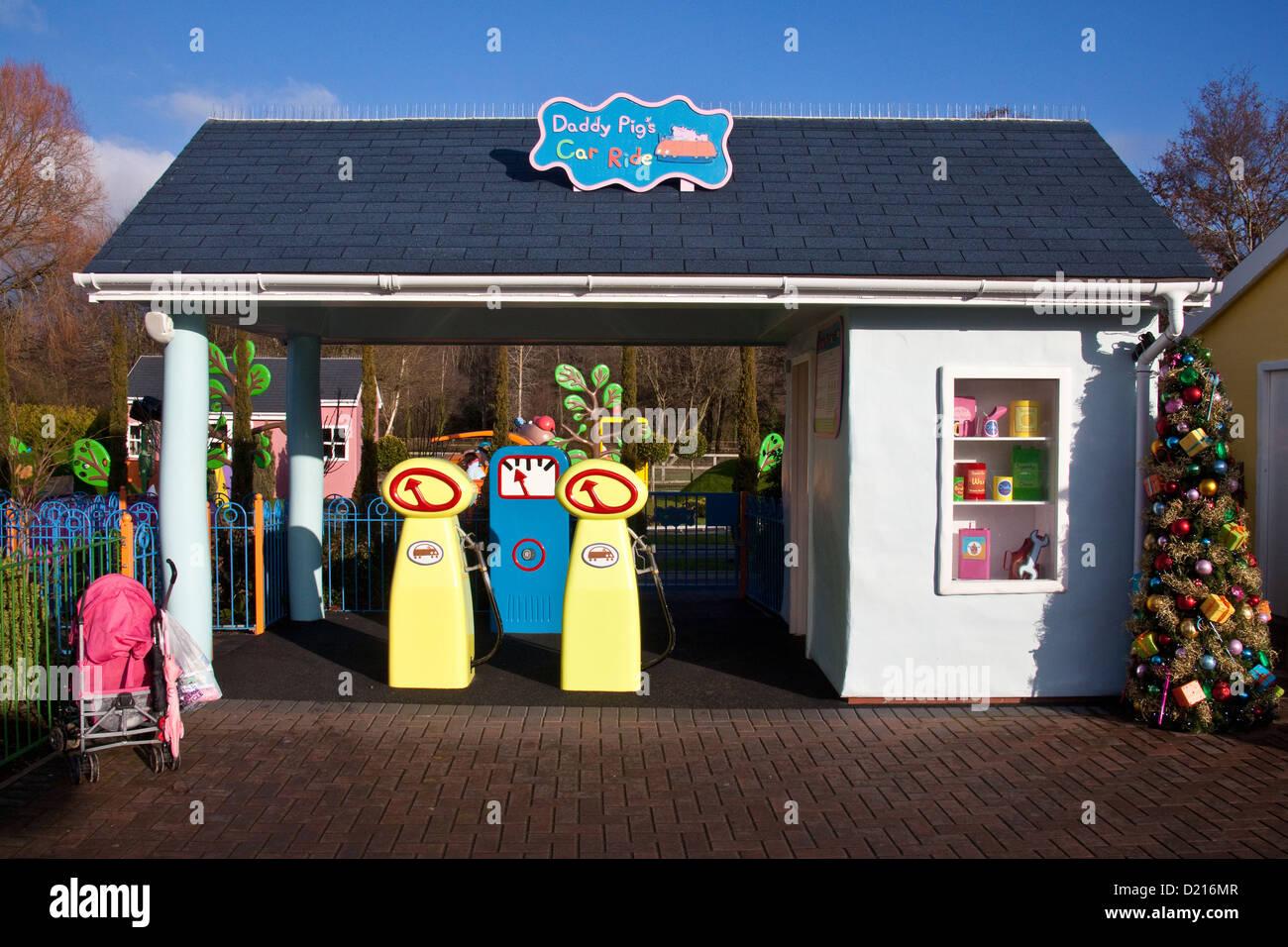 Daddy Pig's Car Ride, Peppa Pig world, Paultons Park, Southampton