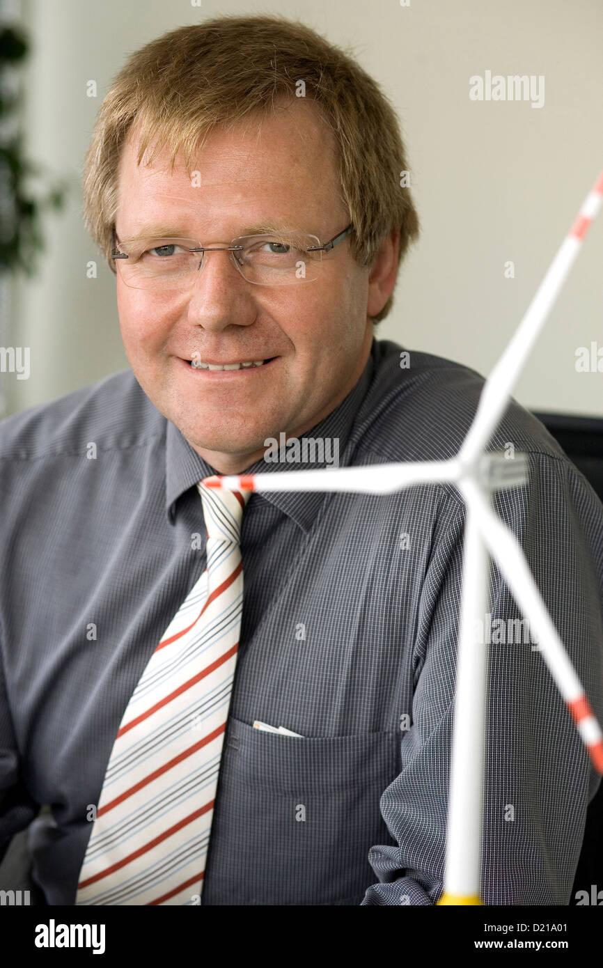 Bremerhaven, Germany, Dr. Hans-Gerd Busmann, director of the Fraunhofer Institute in Bremerhaven Stock Photo