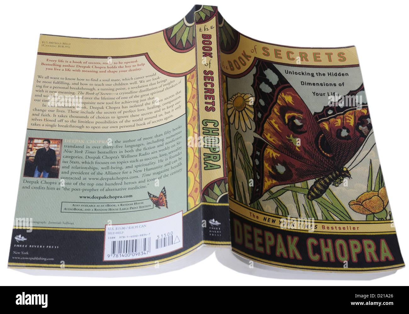The Book of Secrets by Deepak Chopra - Stock Image
