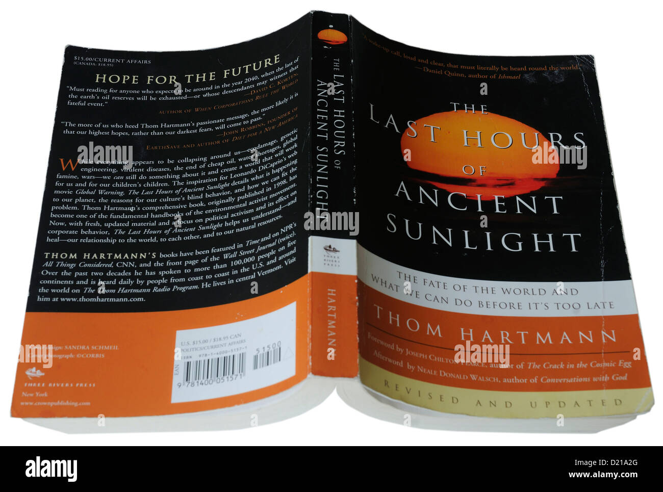 The Last Hours of Ancient Sunlight by Thom Hartmann - Stock Image