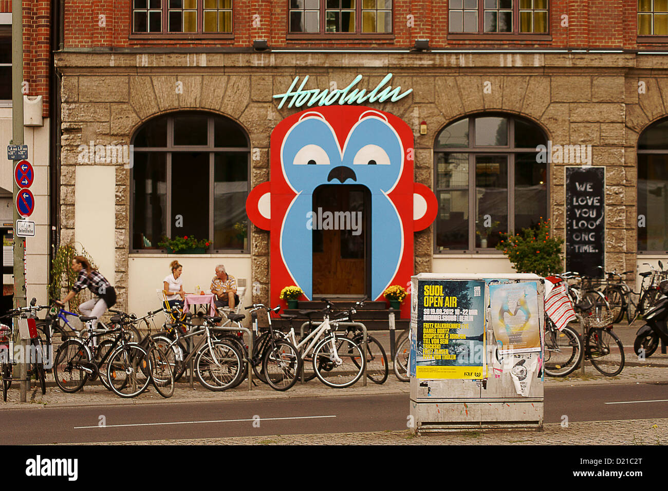 Bar Honolulu in Berlin Stock Photo