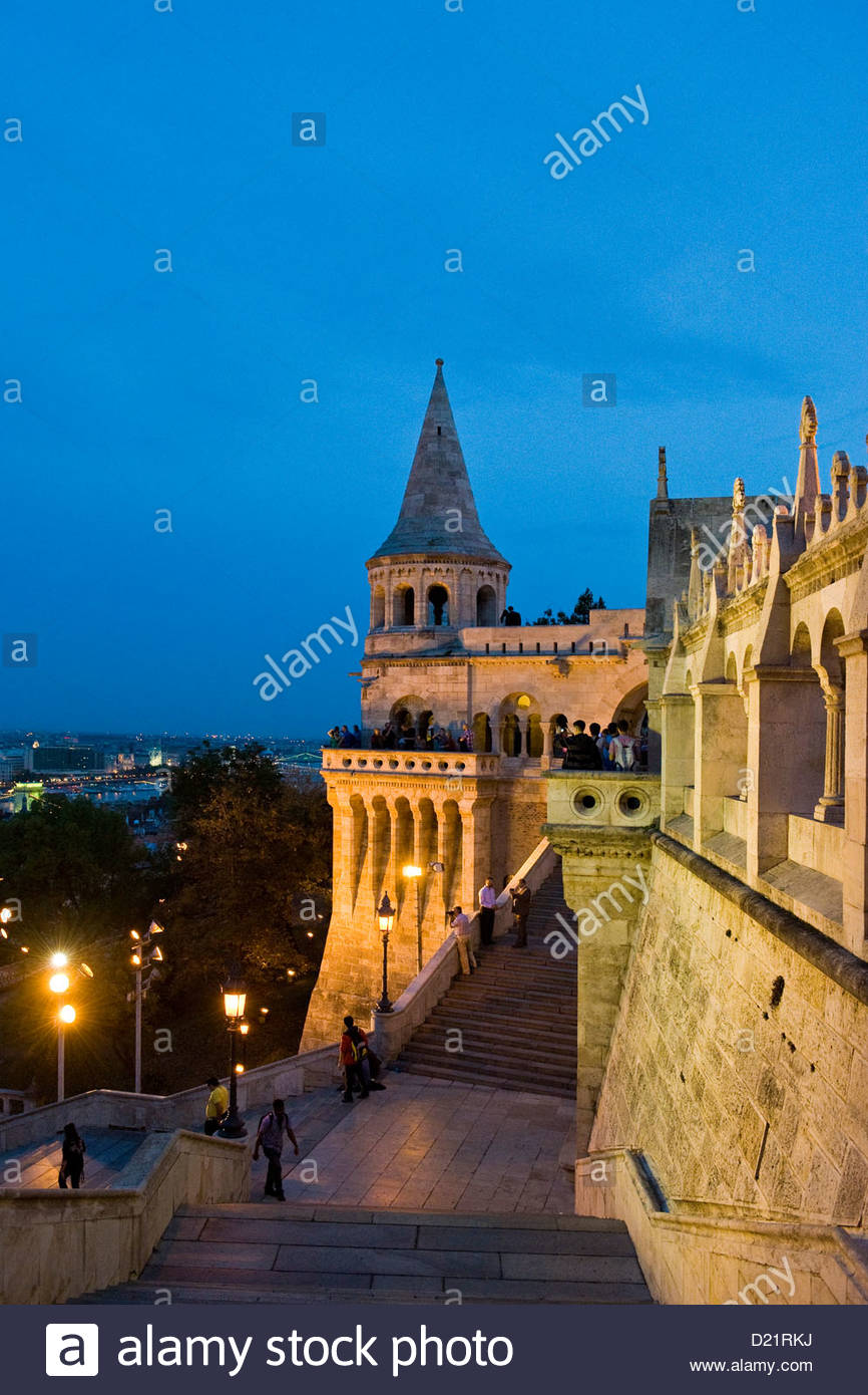 Hungary,Budapest,Fishermen's bastion Stock Photo