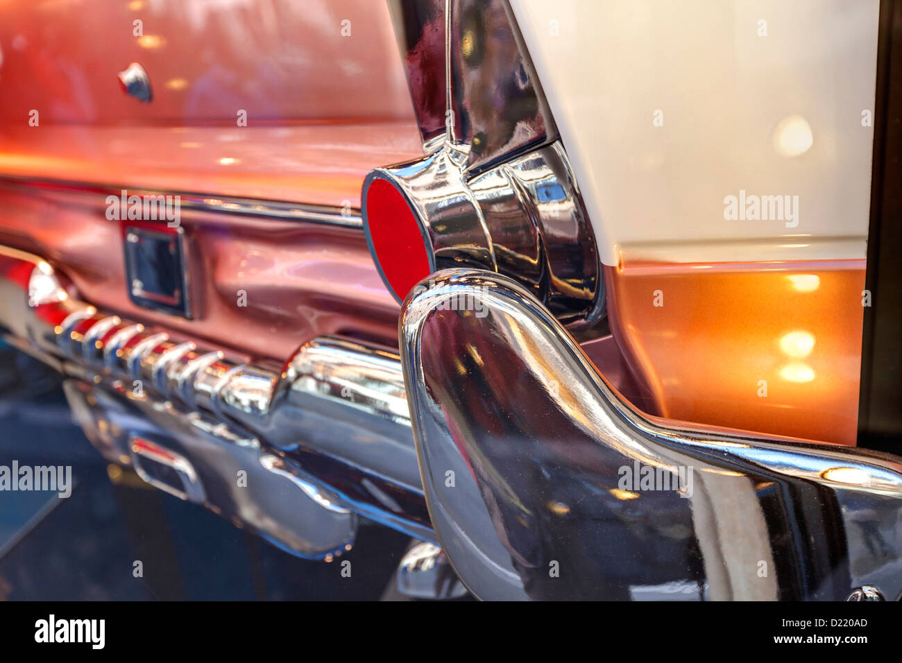 Cadillac rear view - Stock Image