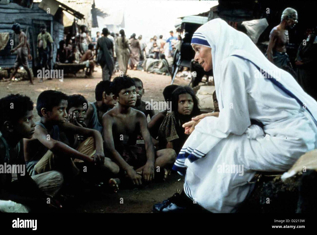 Mutter Teresa Mother Teresa: In Name God's Poor Mutter Teresa Stock