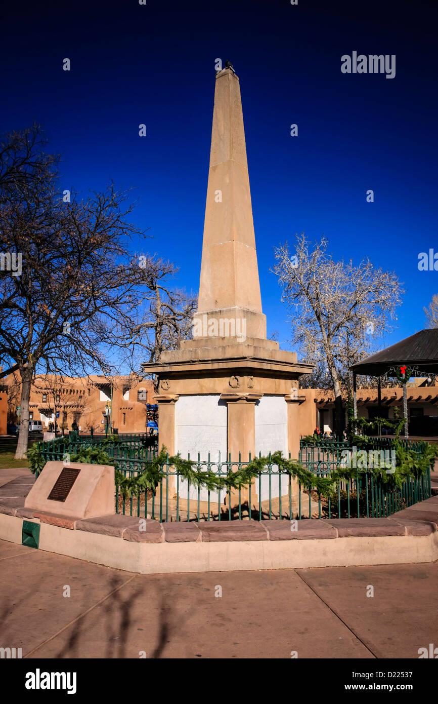 The National Historic Landmark Civil War Memorial In The Santa Fe Stock Photo Alamy