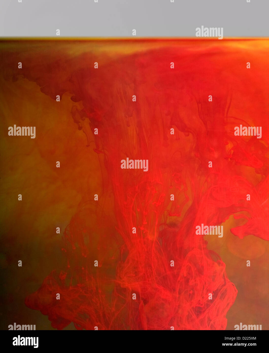 abstract floating color background Stock Photo
