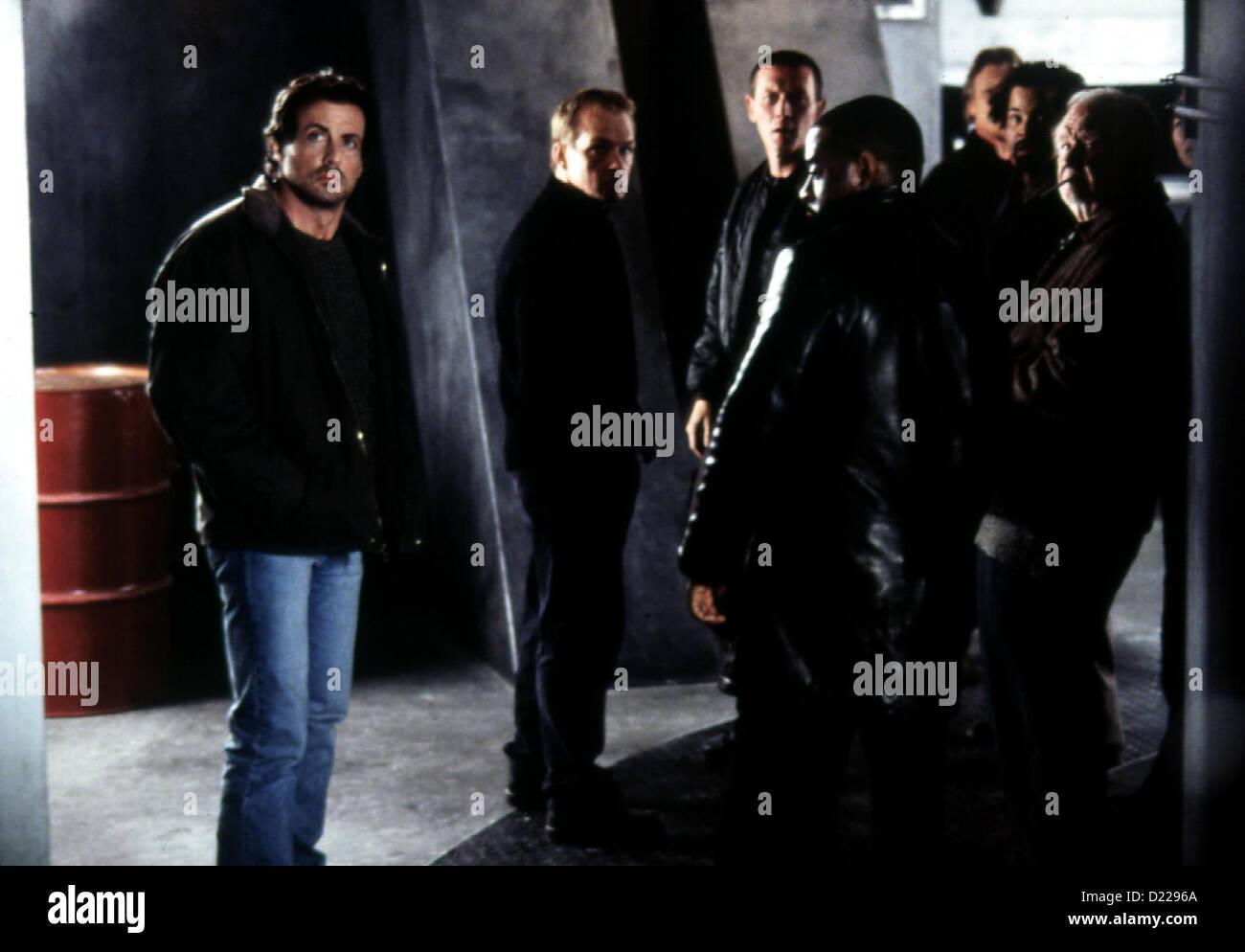 Eye See You  --  Sylvester Stallone, Christopher Fulford, Robert Patrick, Courtney B. Vance, Jeffrey Wright, Robert - Stock Image