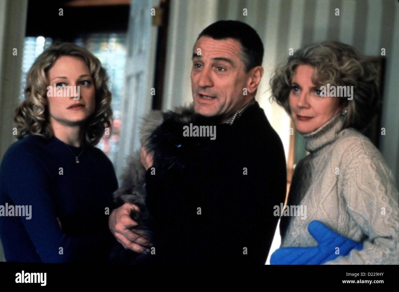 Meine Braut, Ihr Vater Und Ich  Meet Parents  Teri Polo, Robert De Niro, Blythe Danner Pam Byrnes (Teri Polo), Jack - Stock Image